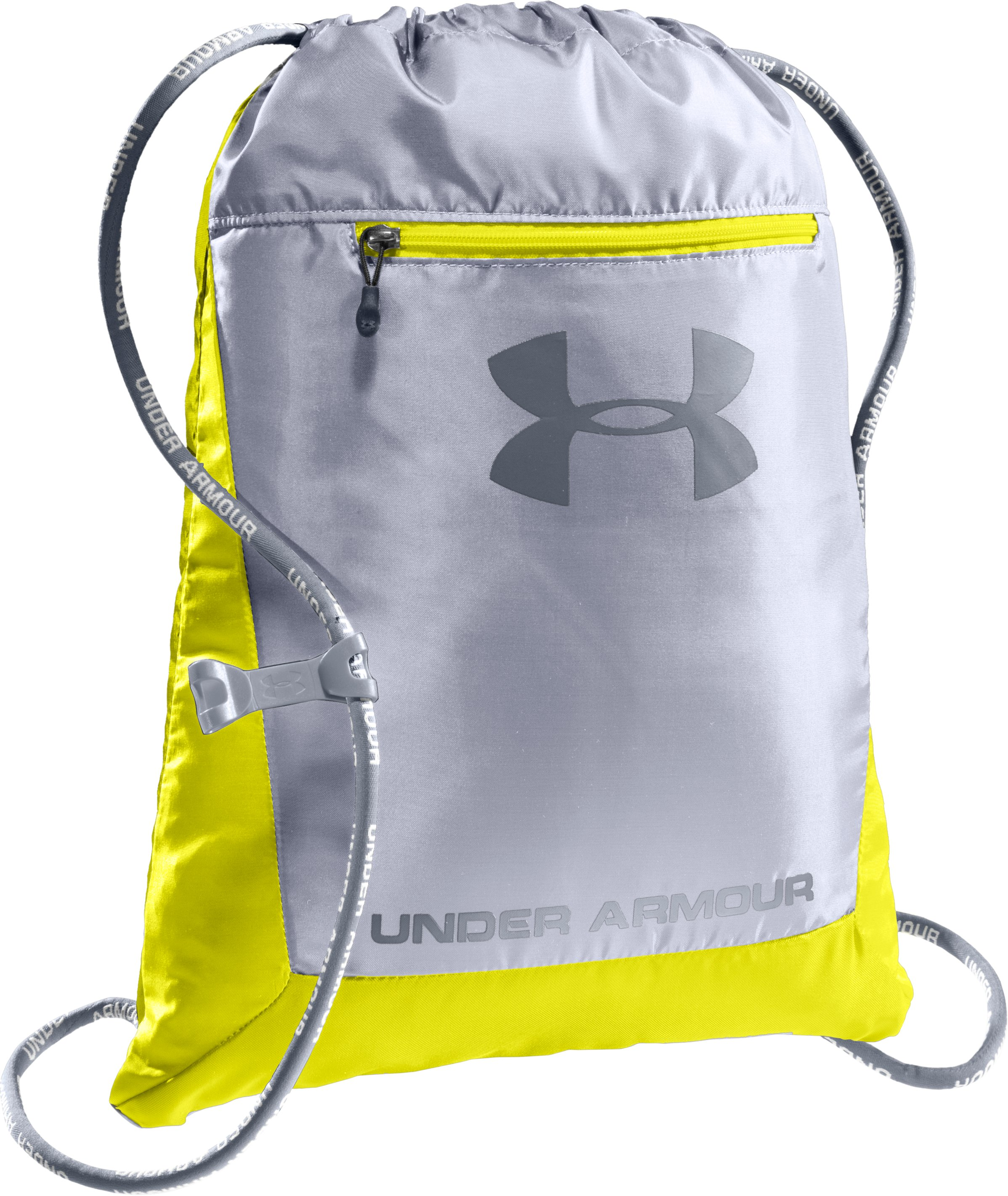 UA Hustle Sackpack, Flash Light, zoomed image