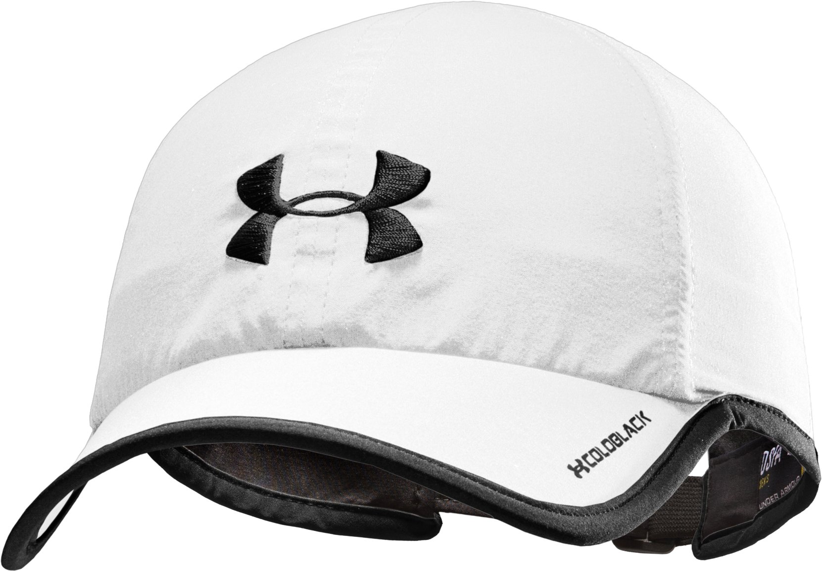 Men's UA Shadow Cap, White, zoomed image