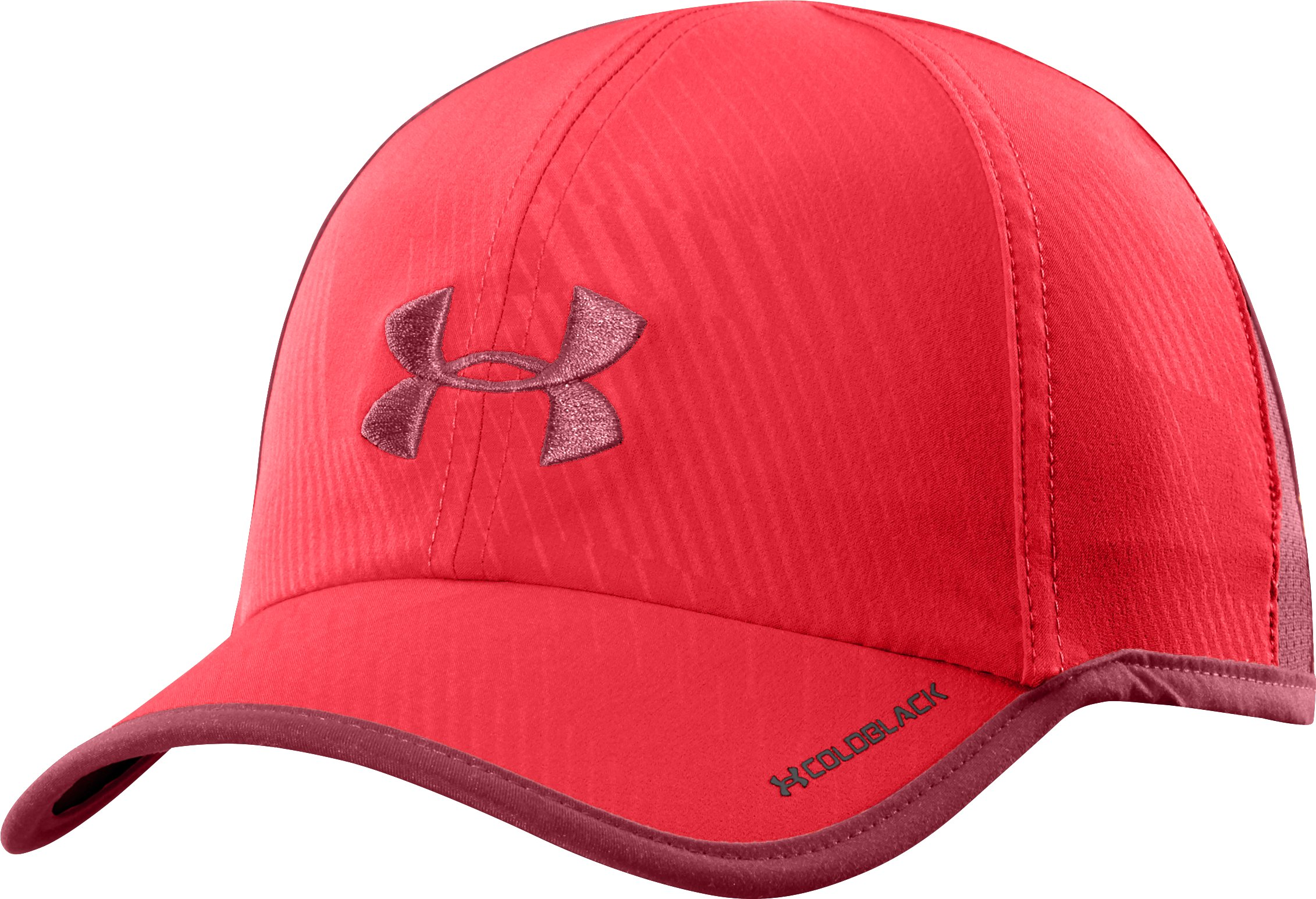 Men's UA Shadow Cap, RISK RED, zoomed image