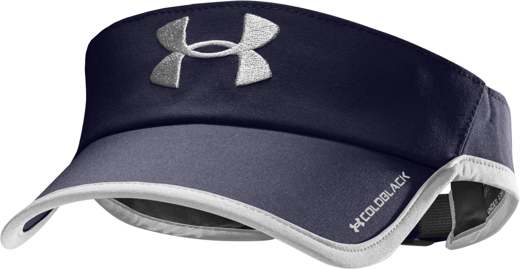 Men's UA Shadow Visor, Midnight Navy, zoomed image