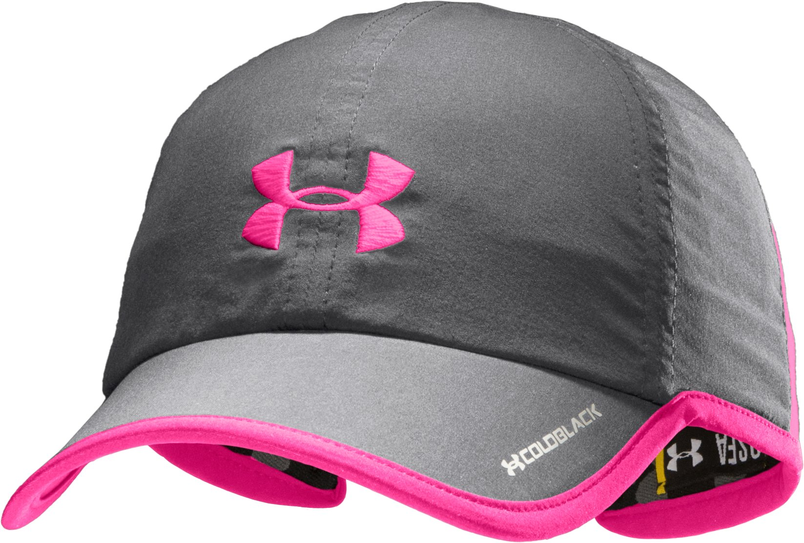 Women's UA Shadow Cap, Graphite, zoomed image