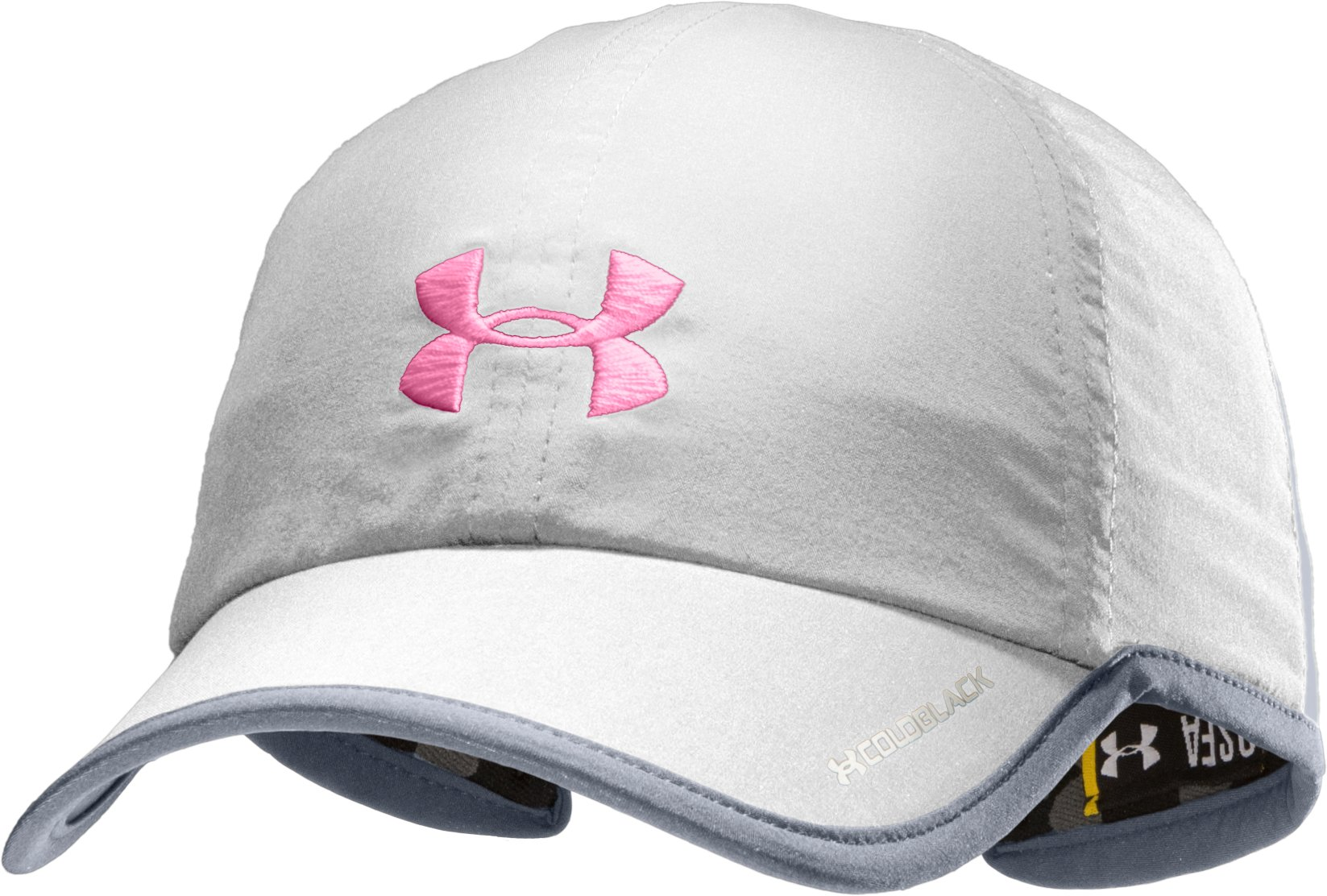 Women's UA Shadow Cap, White, zoomed image