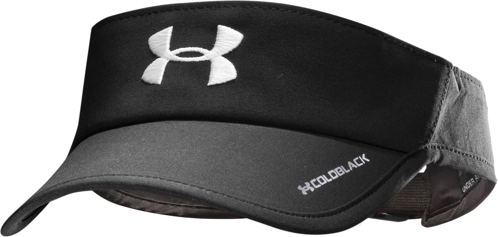 Women's UA Shadow Visor, Black , zoomed image