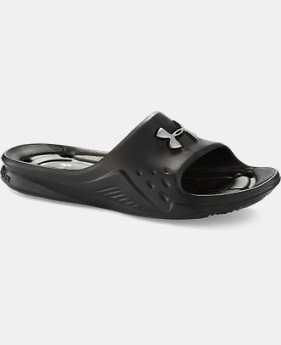 Boys' UA Locker II Slides   $18.99