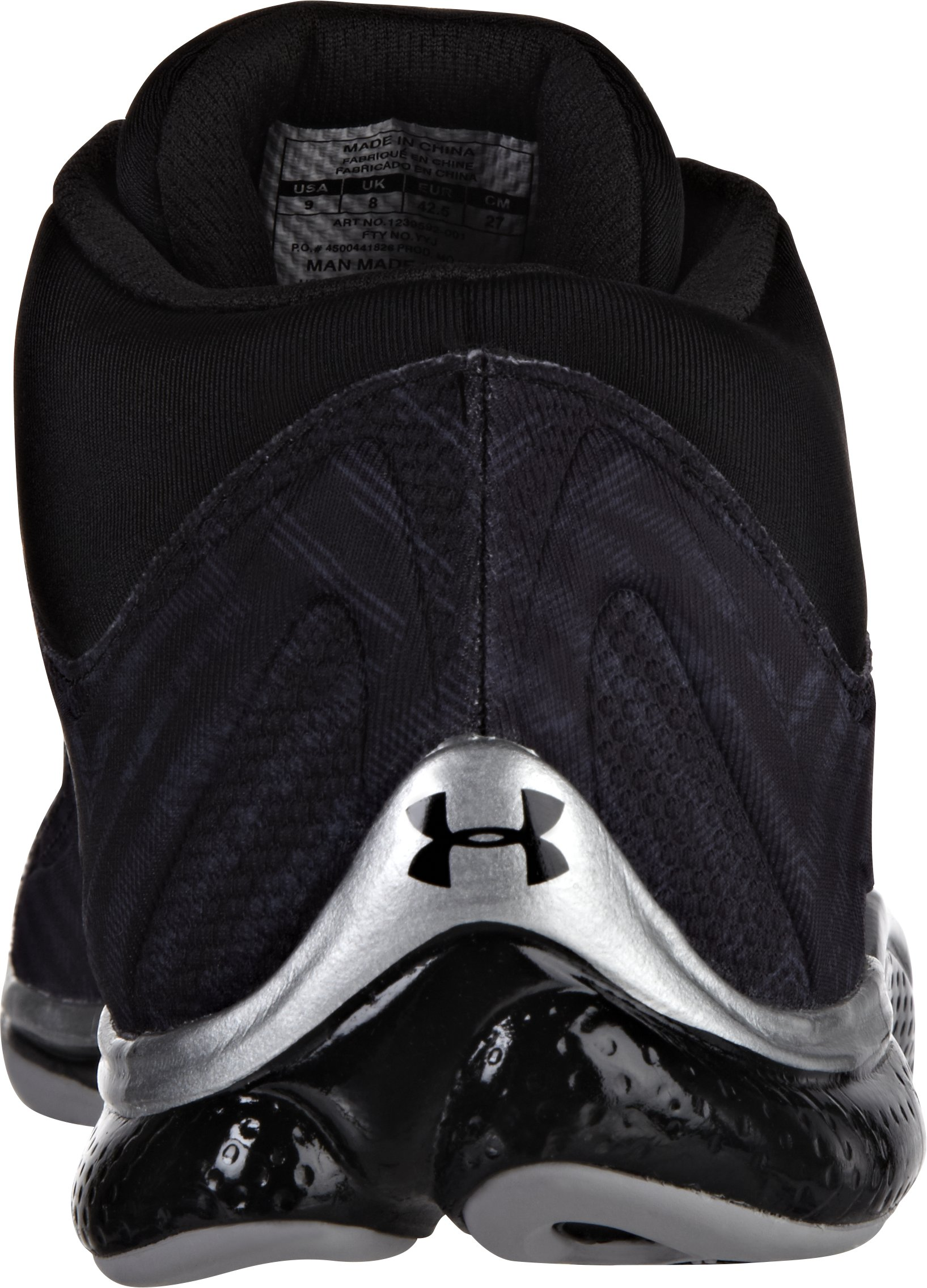 Men's UA Micro G® Renegade Training Shoes, Black