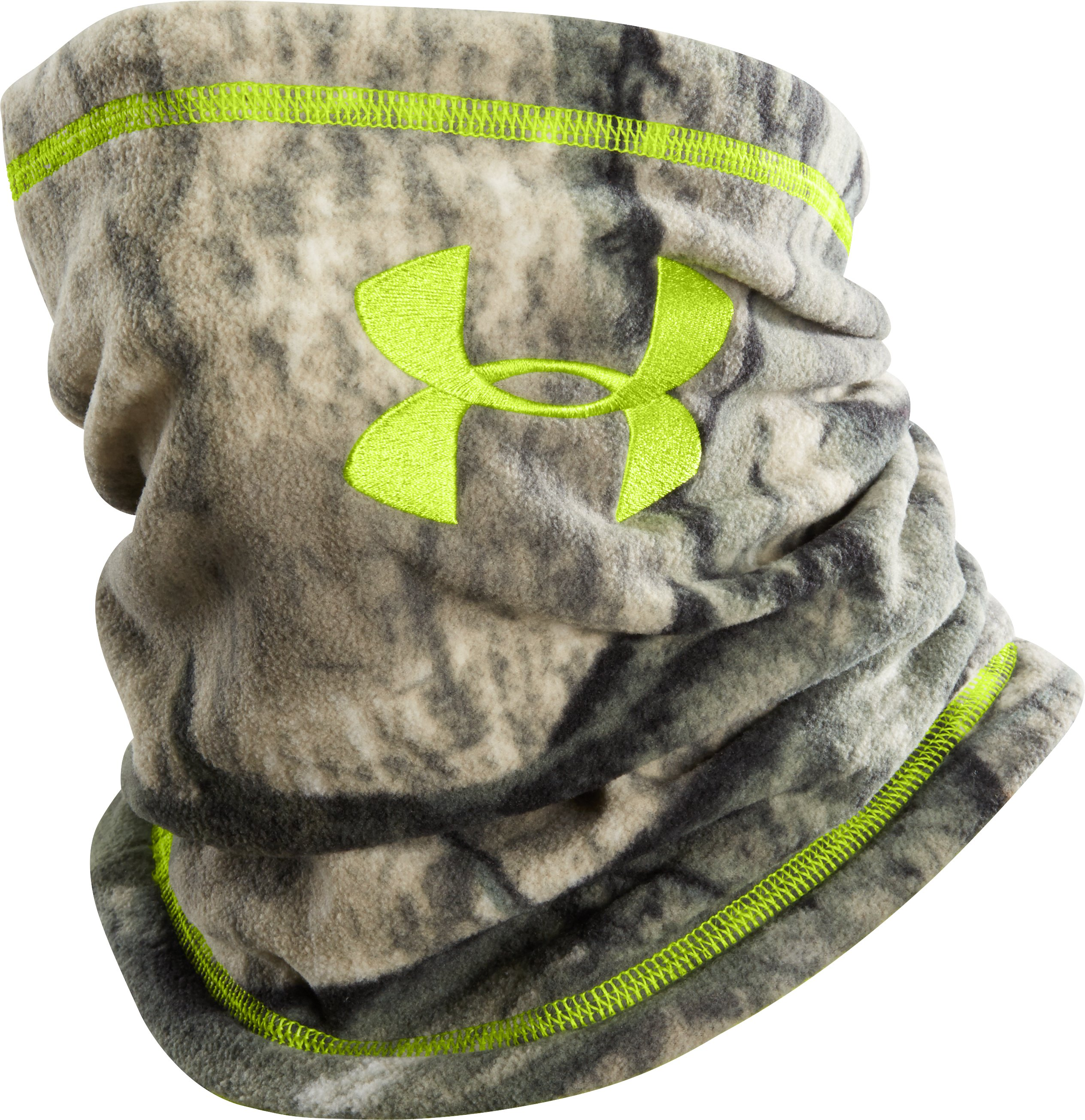 UA Scent Control Neck Gaiter, Mossy Oak Treestand, zoomed image