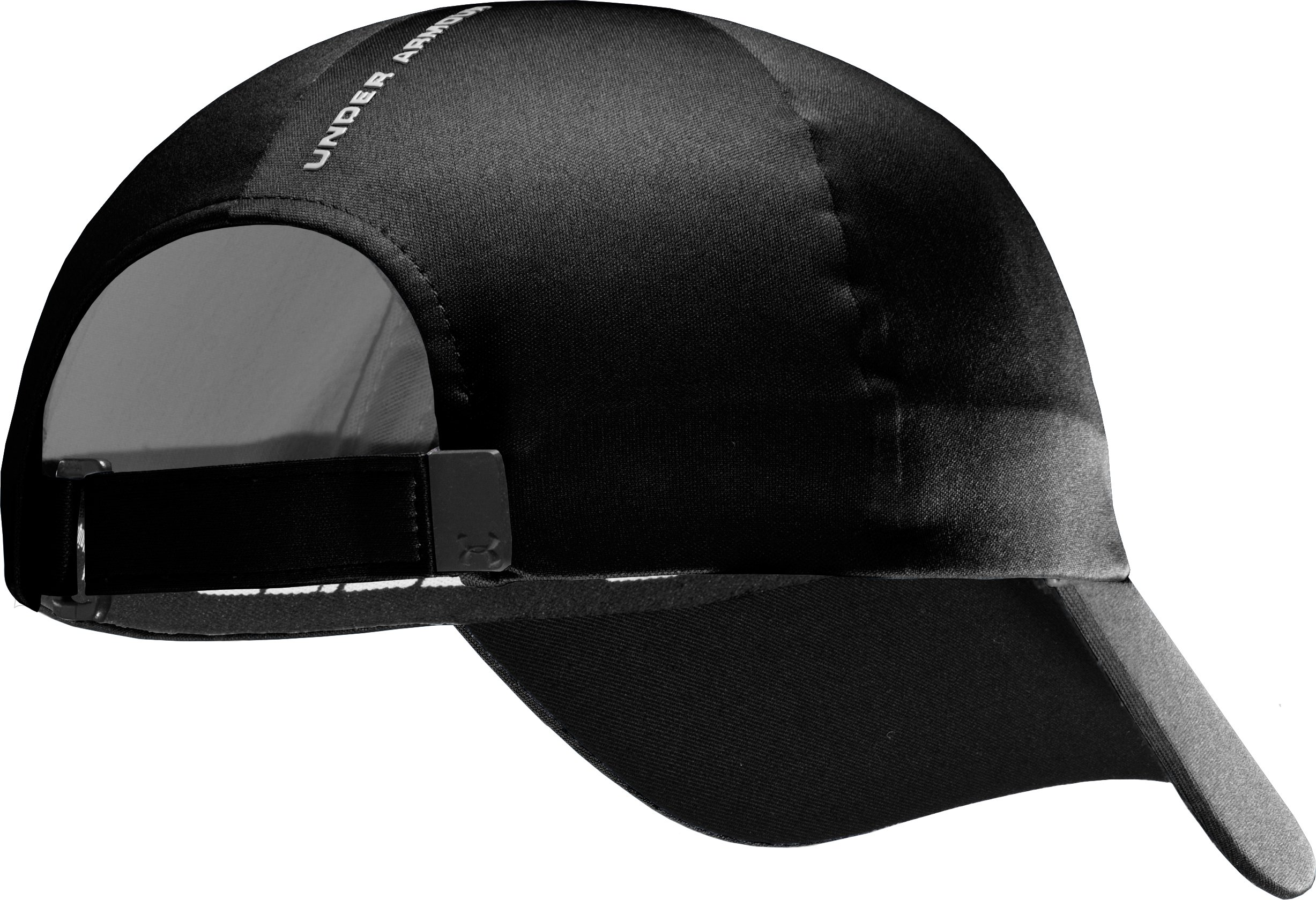 Men's UA Elements Storm Adjustable Fit Cap, Black