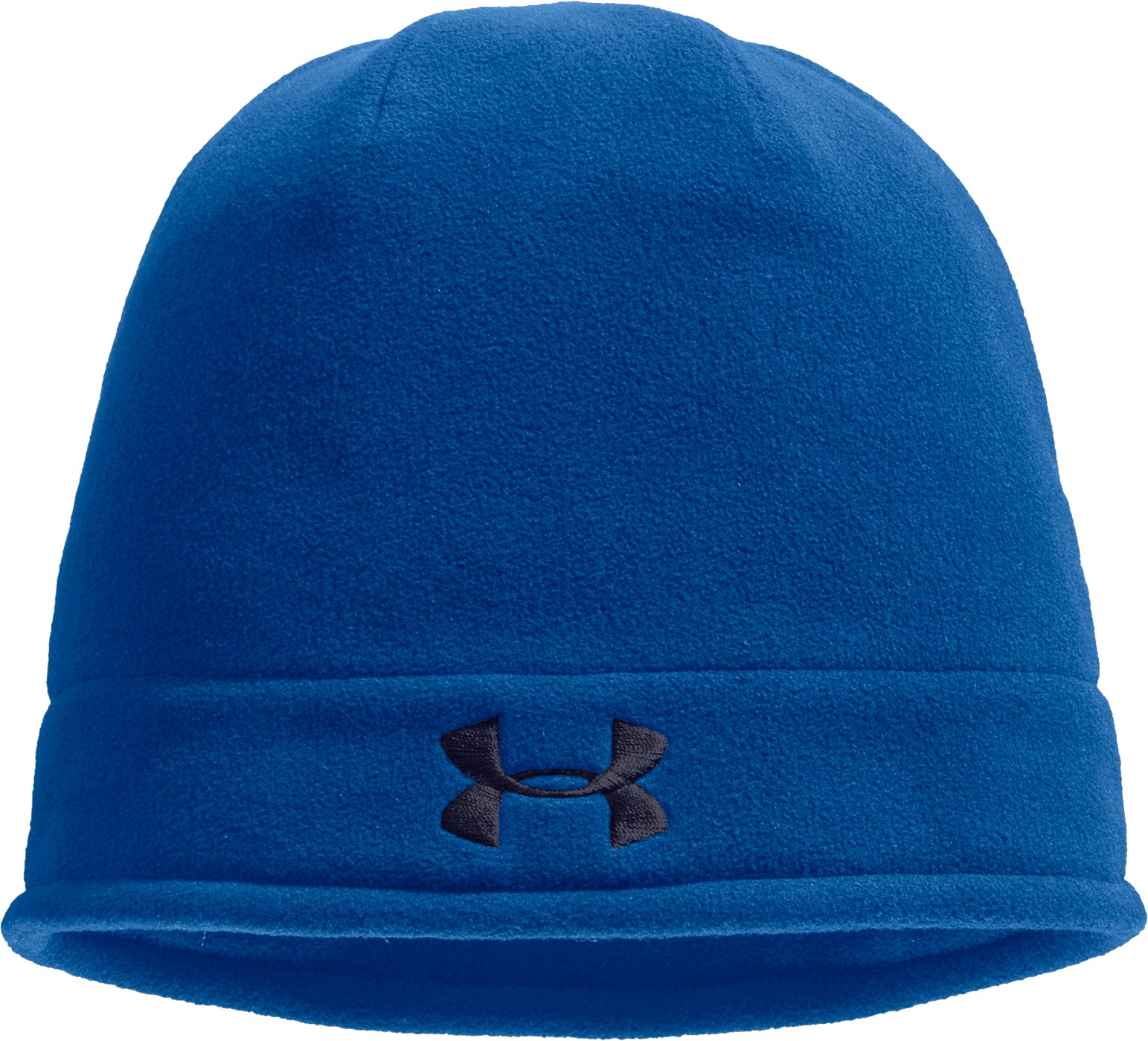 Men's ColdGear® Infrared Fleece Storm Beanie, SUPERIOR BLUE, zoomed image