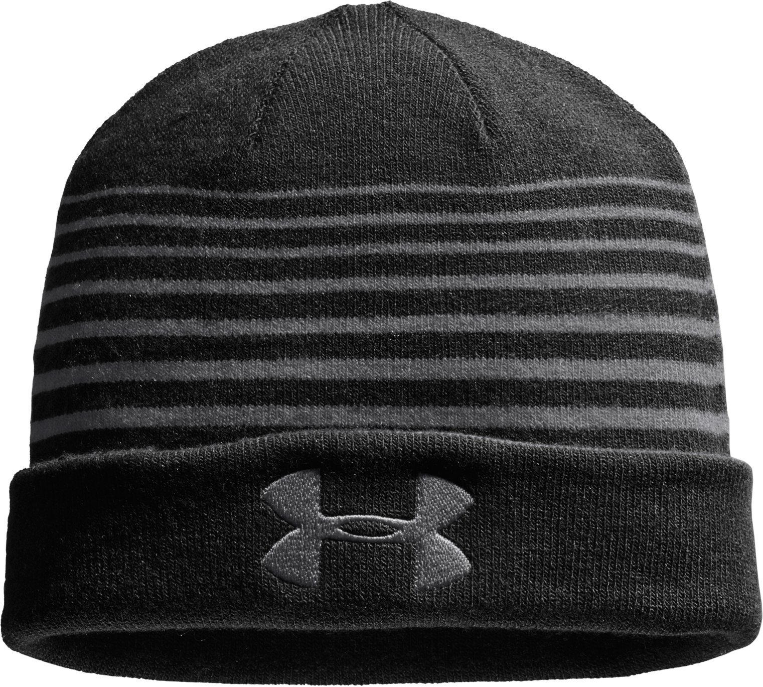 Men's UA Switch It Up Reversible Beanie, Graphite, zoomed image