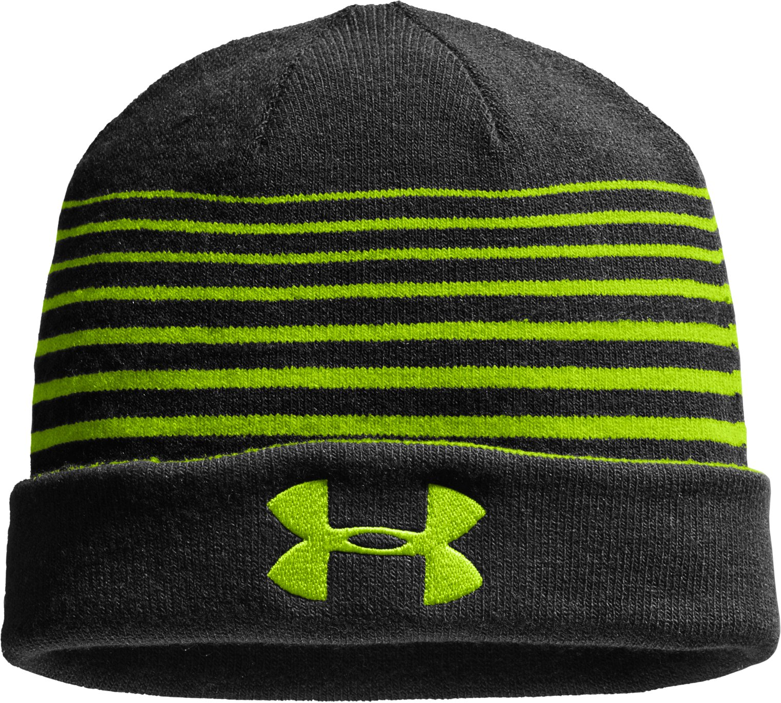 Men's UA Switch It Up Reversible Beanie, HYPER GREEN, zoomed image