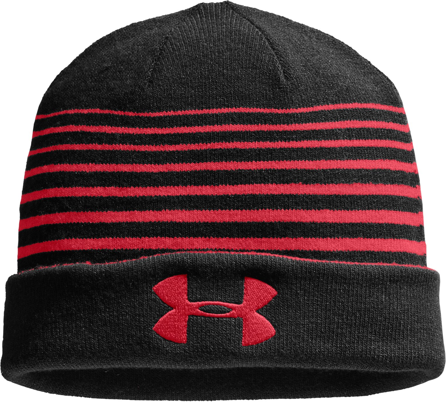 Men's UA Switch It Up Reversible Beanie, Red