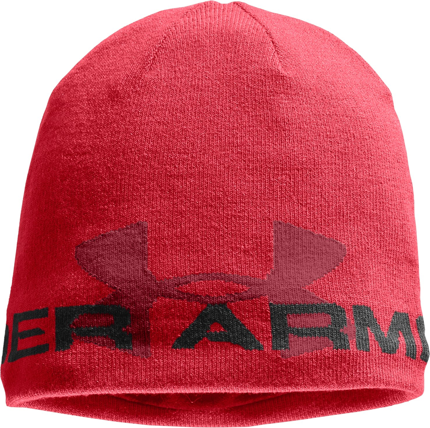 Men's ColdGear® Infrared Billboard Beanie, Red, zoomed image