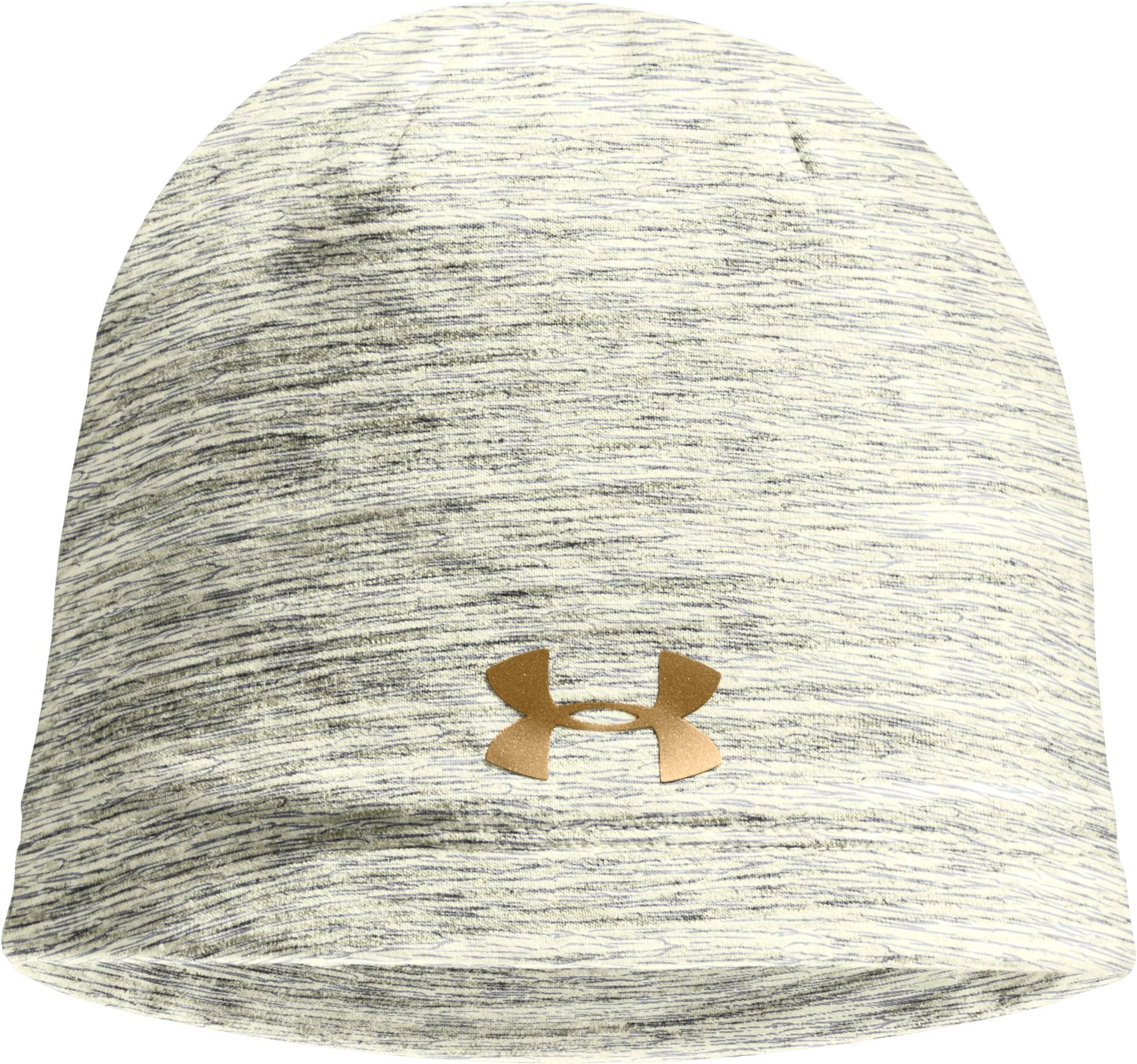 Women's UA Charged Cotton® Storm Marble Beanie, TUSK