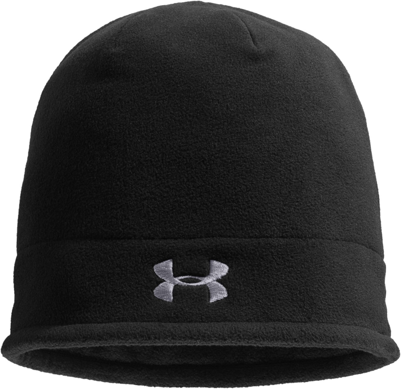 Boys' ColdGear® Infrared Fleece Storm Beanie, Black , zoomed image