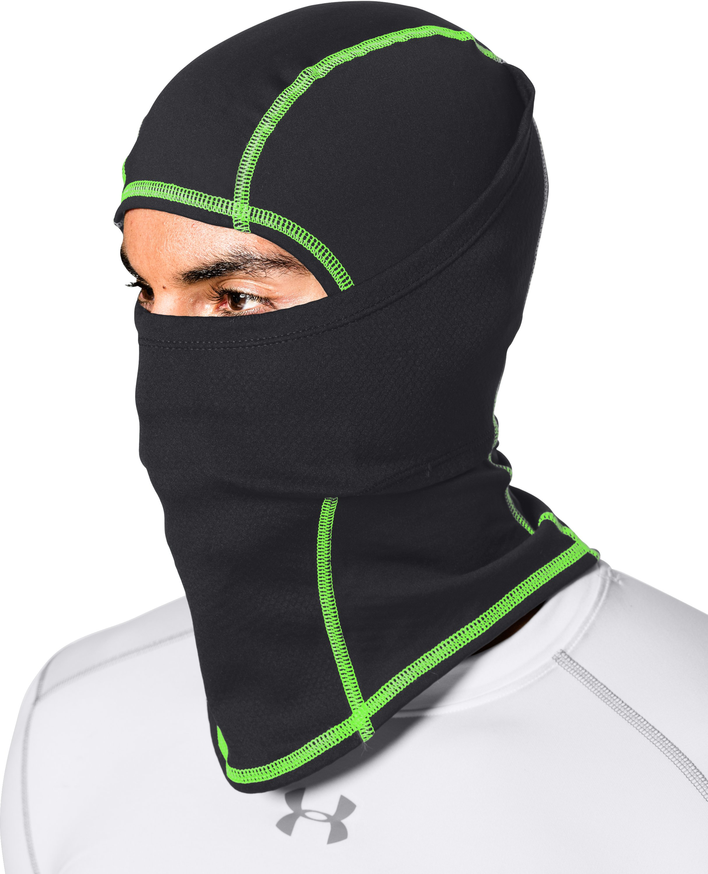 Men's UA ColdGear® Infrared Balaclava, Black , undefined