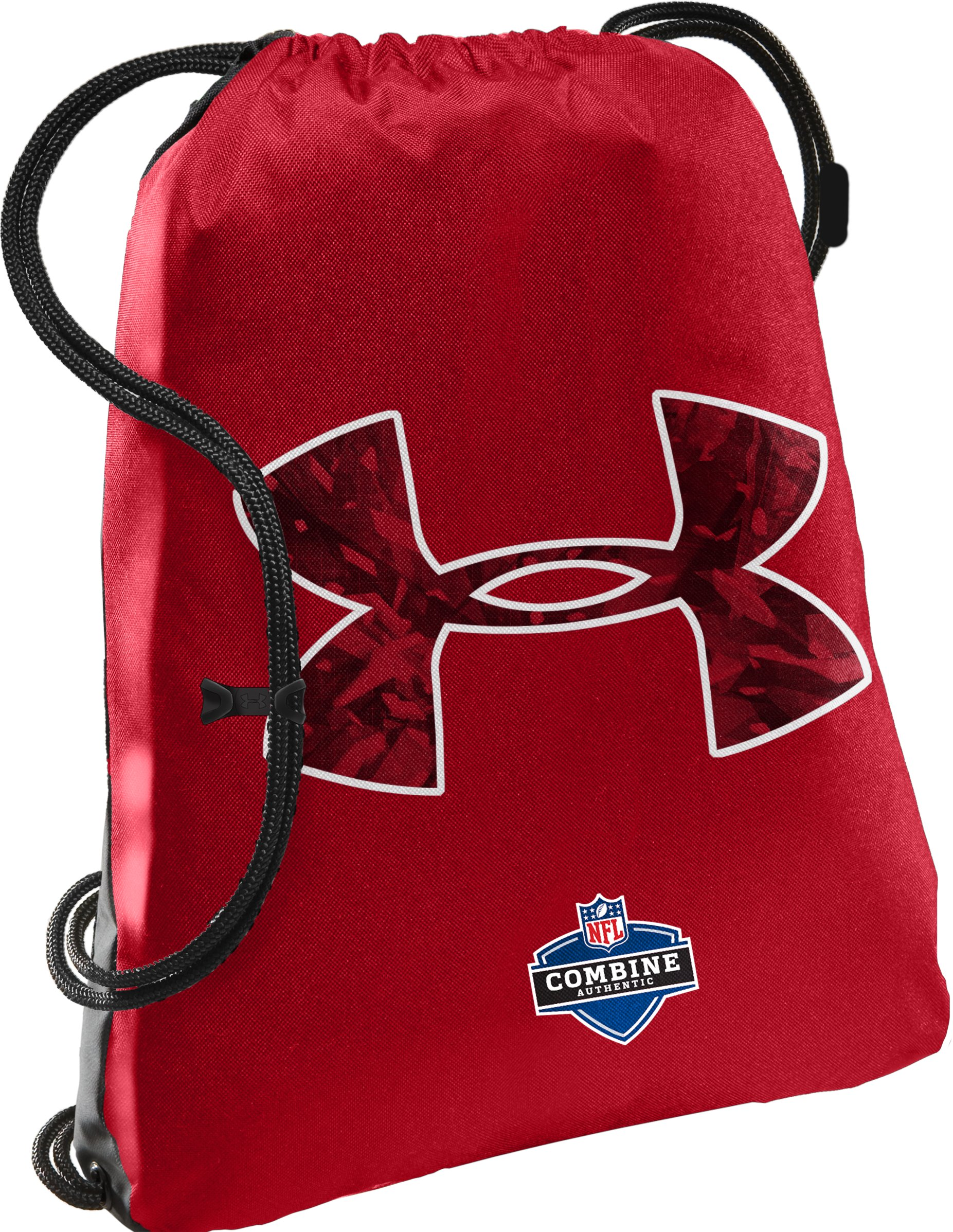 NFL Combine Authentic Tyro Sackpack, Red, zoomed image