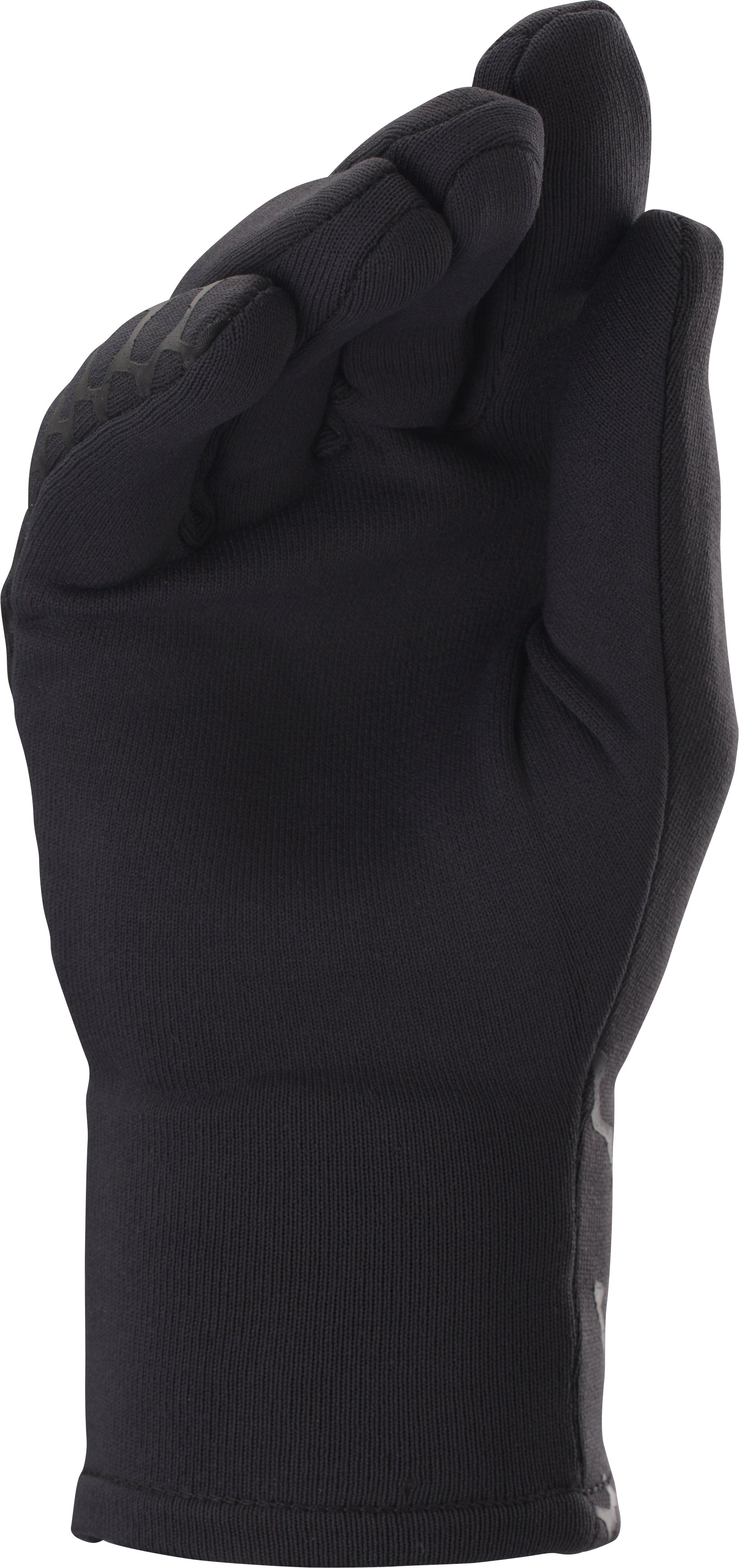 Women's UA Armour® Stretch Gloves, Black ,