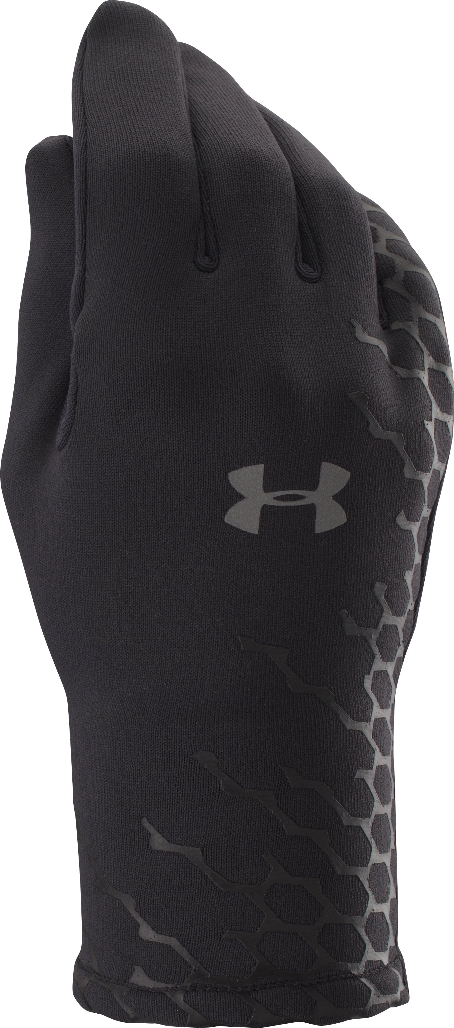 Women's UA Armour® Stretch Gloves, Black