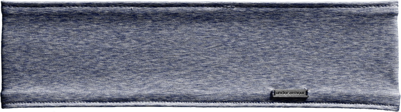 Women's UA Studio Jaspe Headband, BLU-AWAY, zoomed image