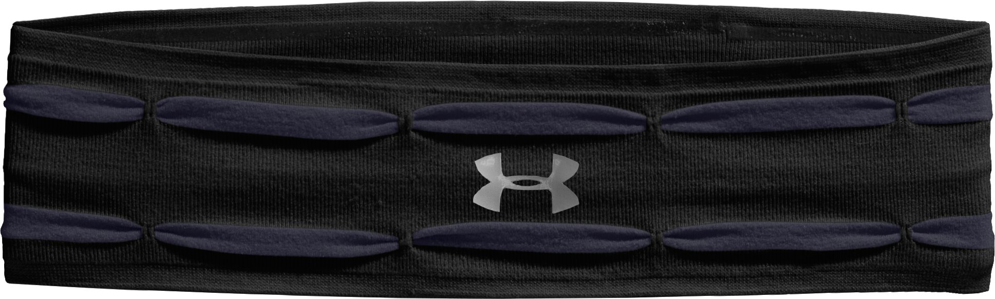 Women's UA Perfect Headband, Black , zoomed image