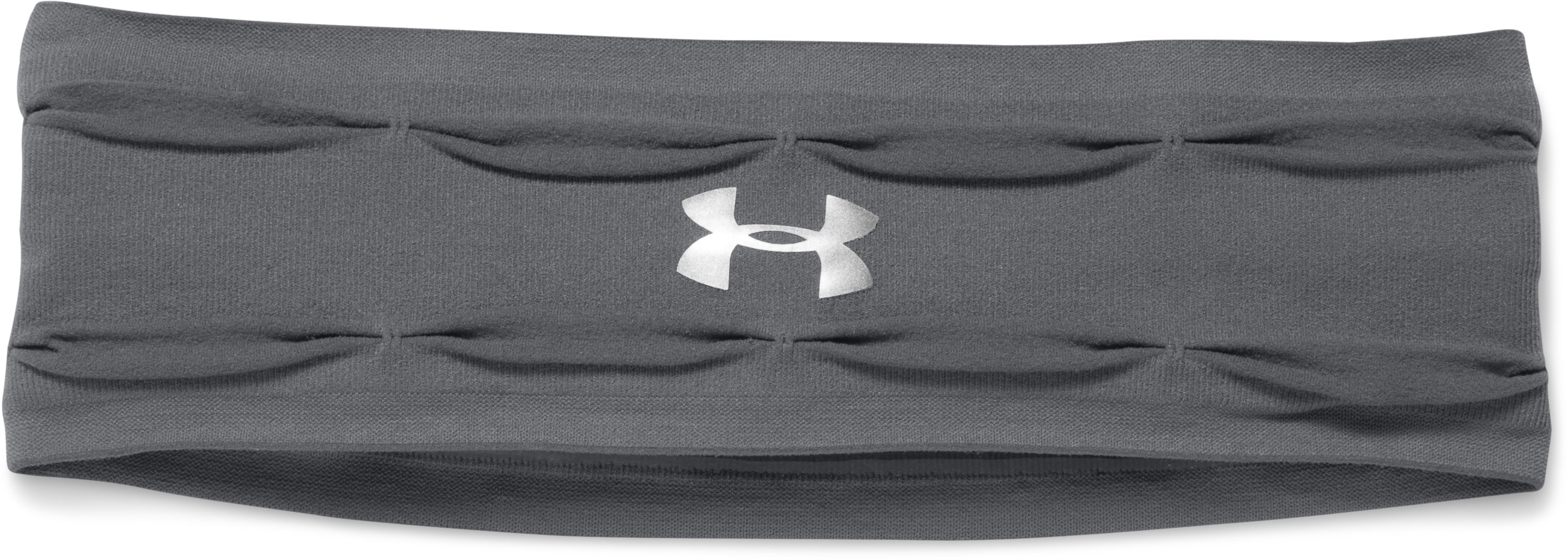 Women's UA Perfect Headband, Graphite, undefined