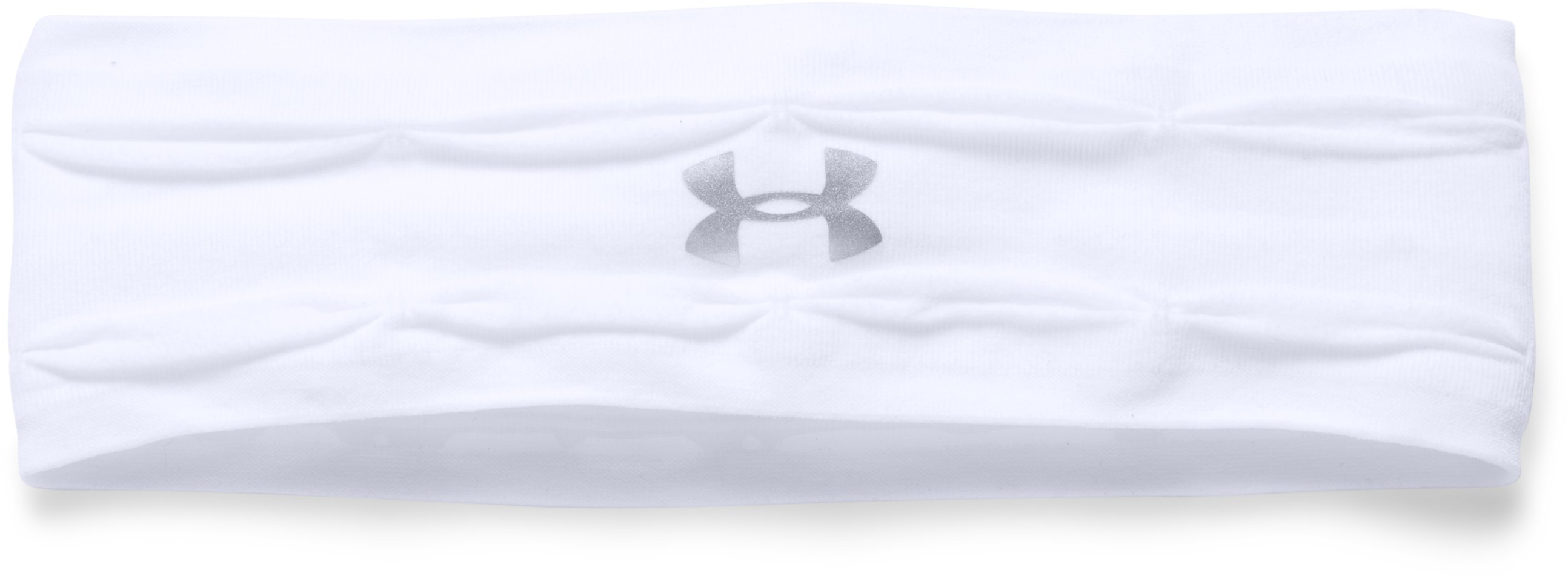 Women's UA Perfect Headband, White, undefined
