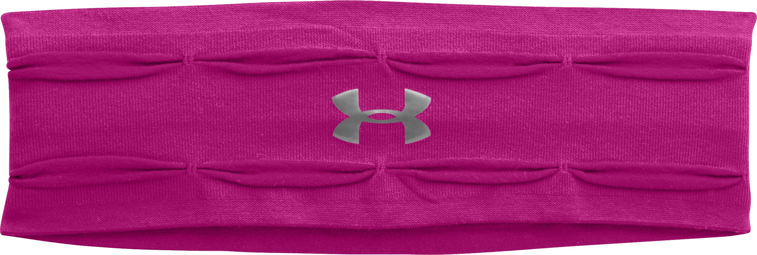 Women's UA Perfect Headband, MAGENTA SHOCK, zoomed image
