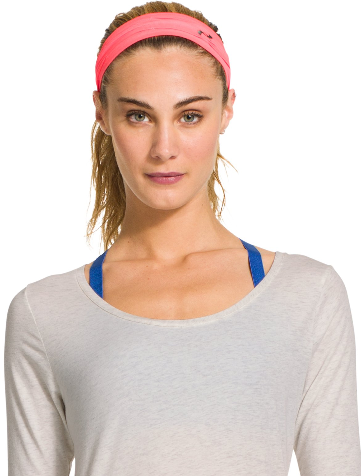 Women's UA Perfect Headband, MAGENTA SHOCK,