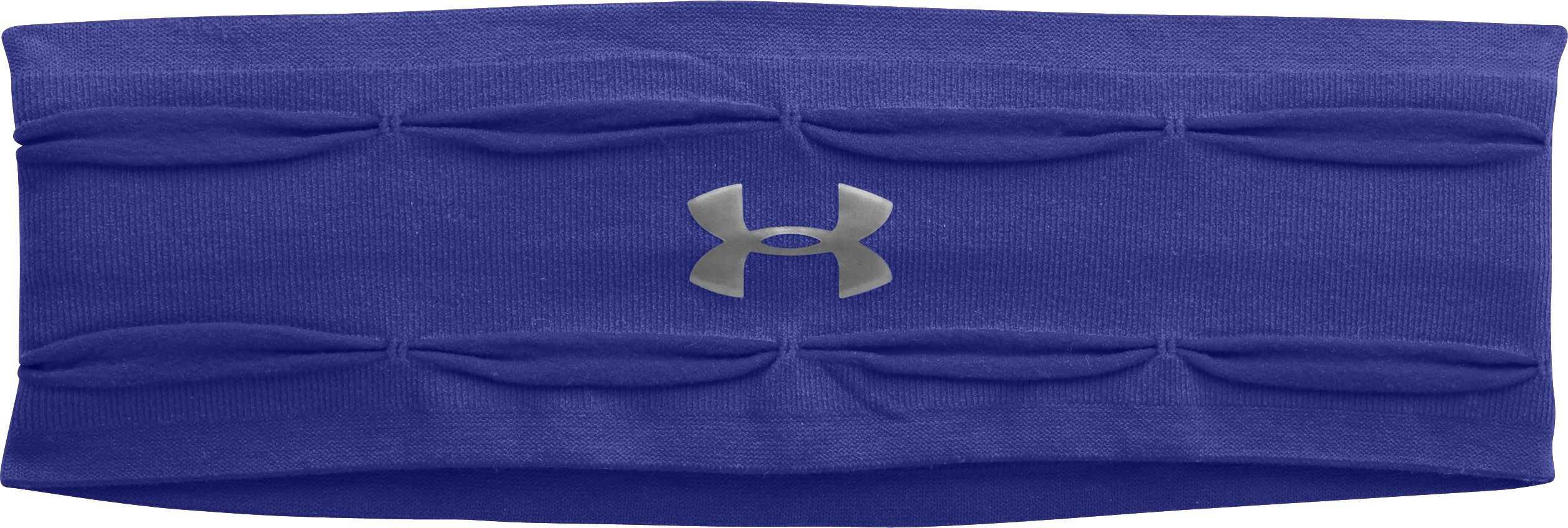 Women's UA Perfect Headband, SIBERIAN IRIS, zoomed image
