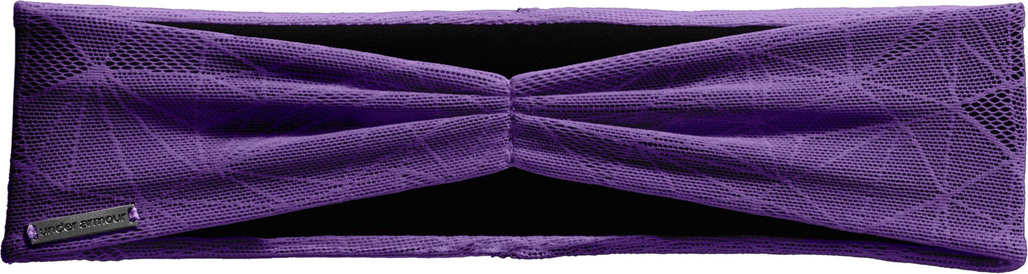 Women's UA Modern Headband, Purple Rain