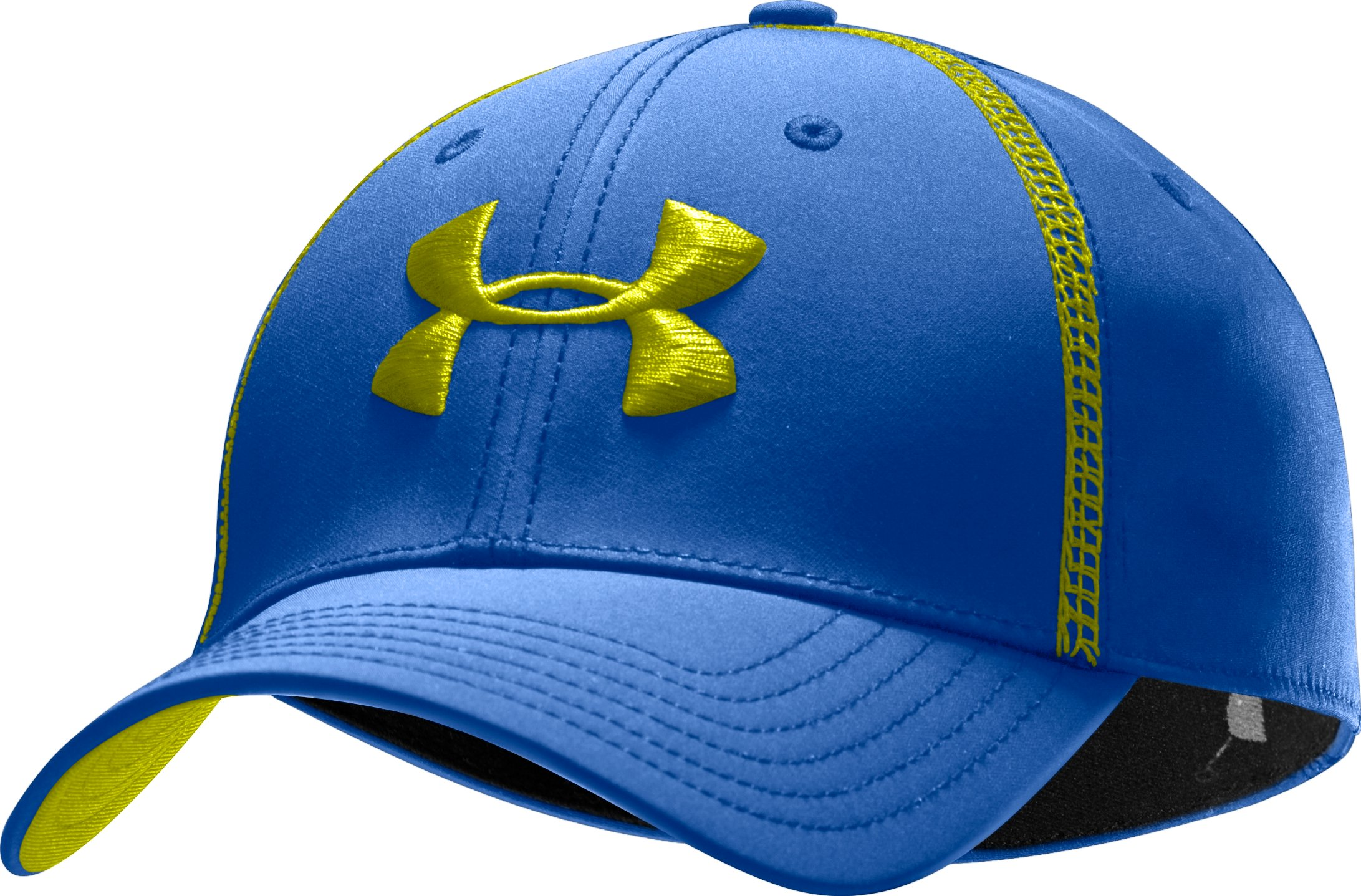 Men's UA Huddle Stretch Fit Cap, Moon Shadow