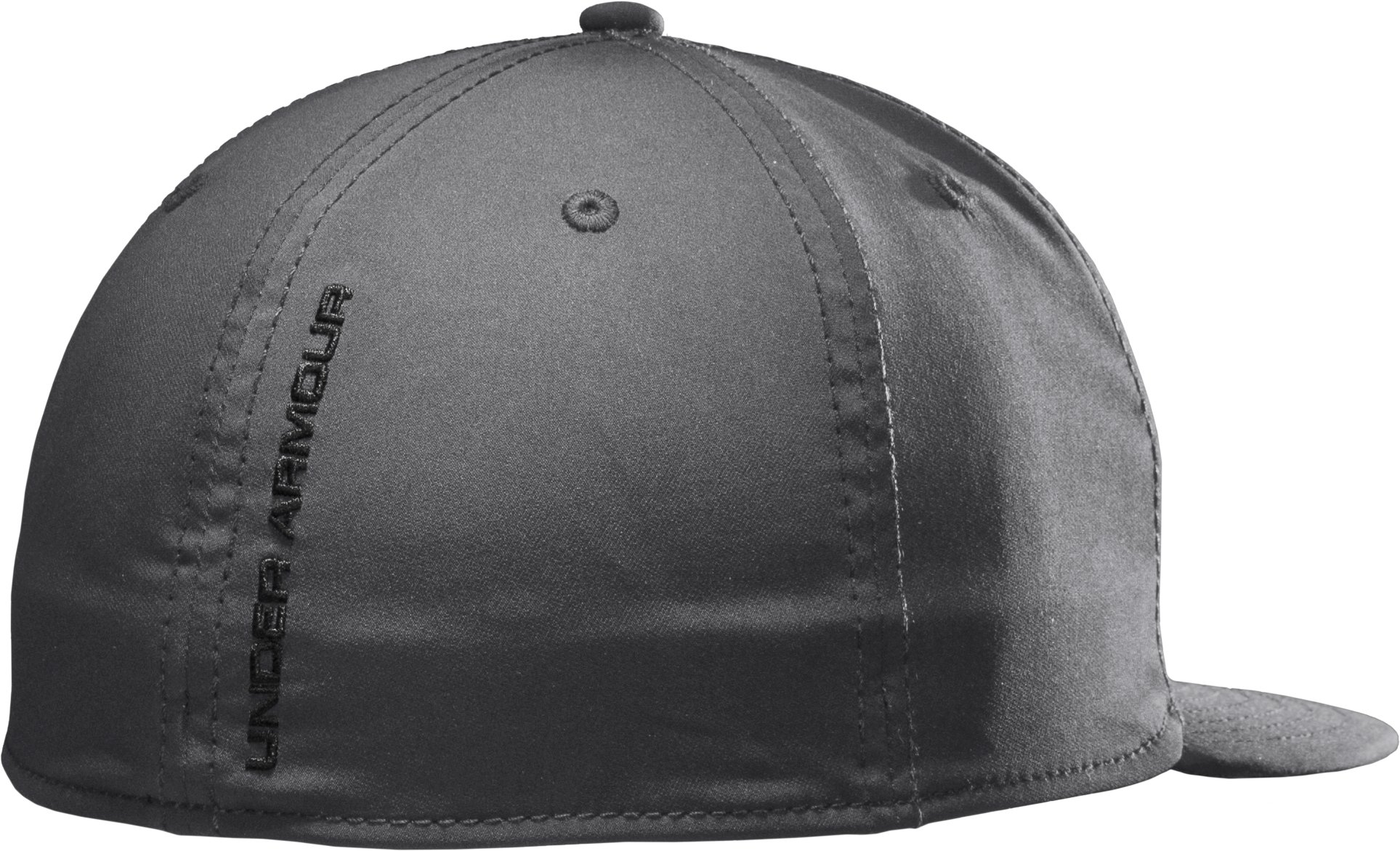 Men's UA Huddle II Flat Brim Cap, Graphite