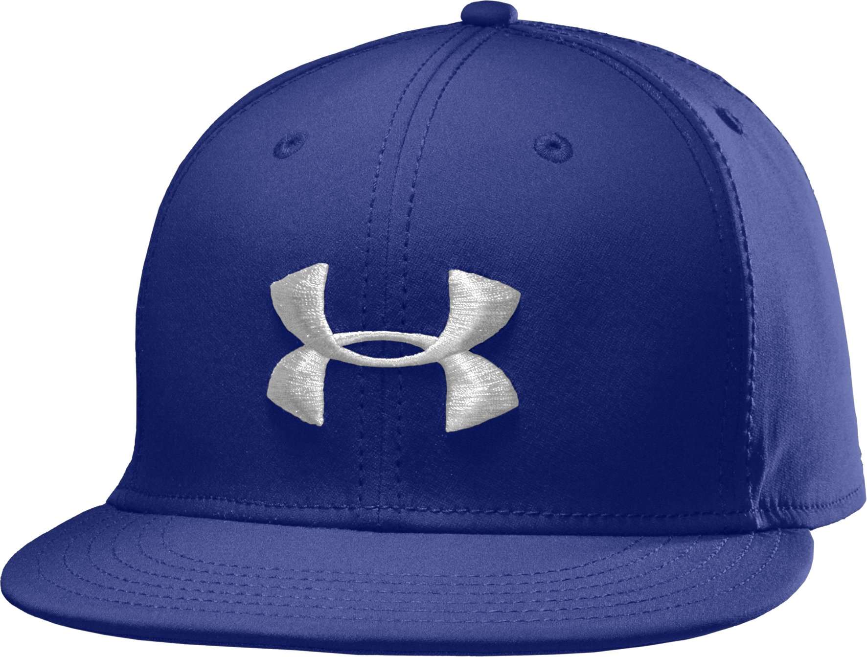 Men's UA Huddle II Flat Brim Cap, Royal, zoomed image