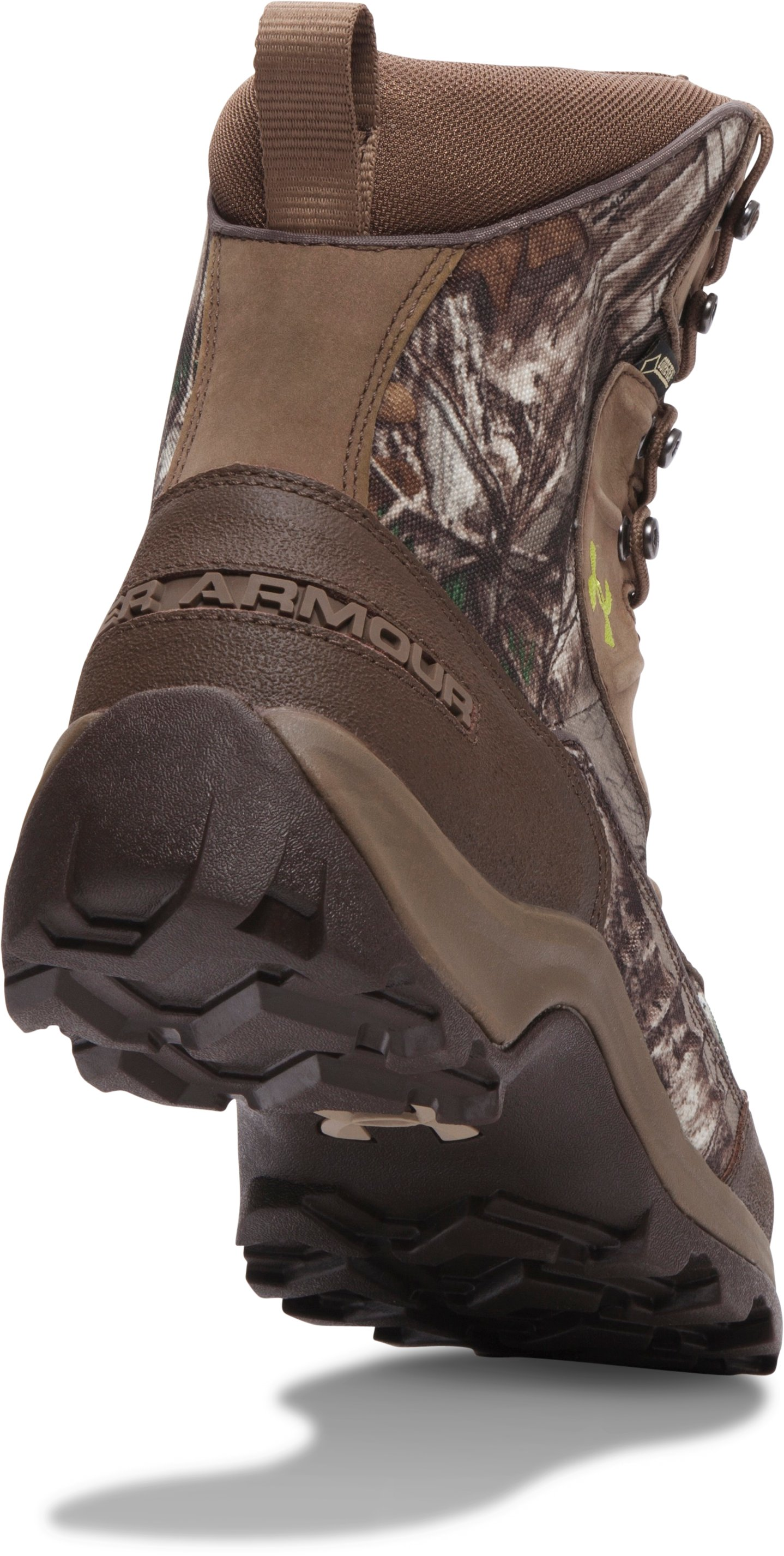 Men's UA Brow Tine Hunting Boots, REALTREE AP-XTRA