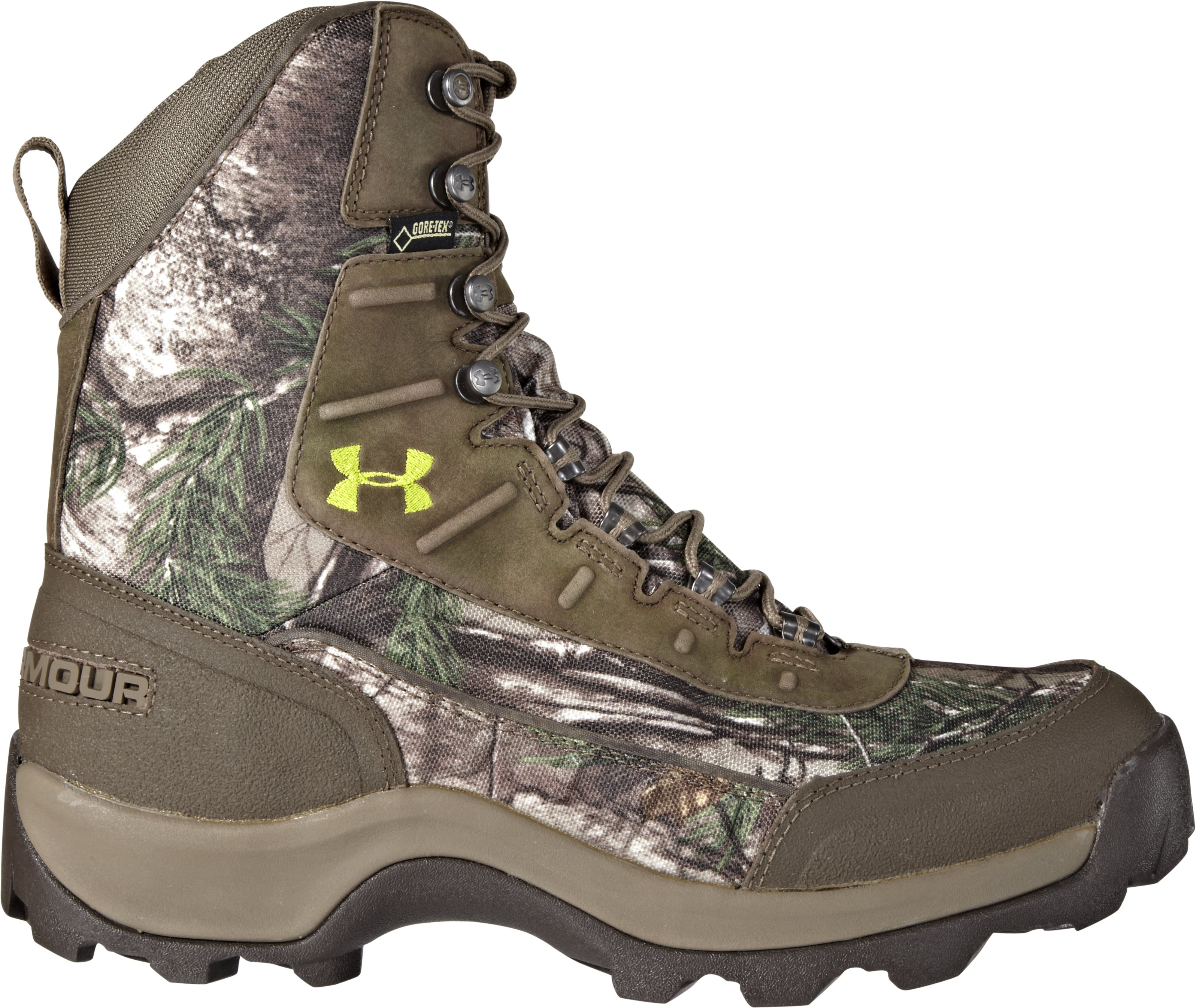 Men's UA Brow Tine Hunting Boots – Wide (2E), REALTREE AP-XTRA