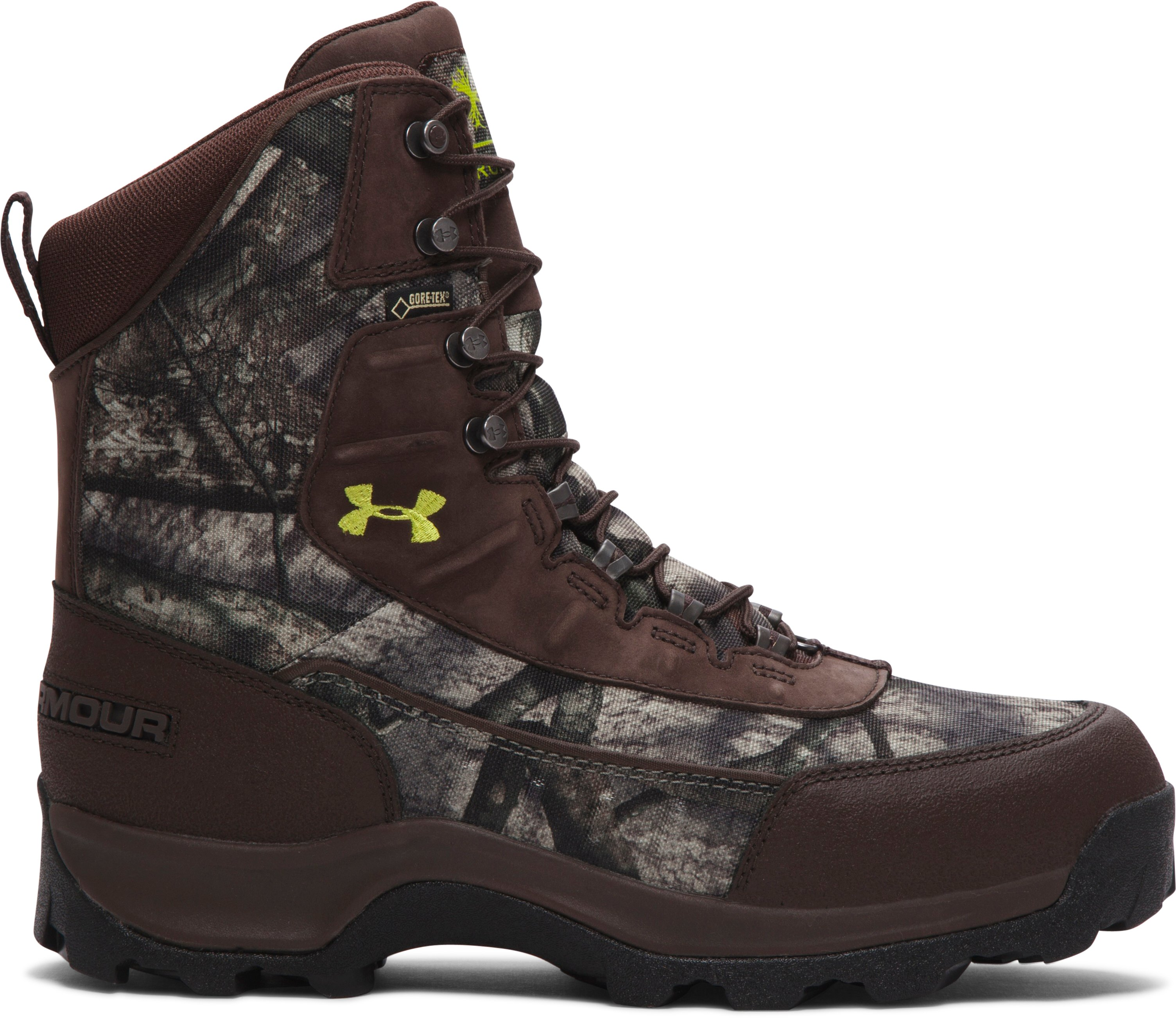Men's UA Brow Tine Hunting Boots — 800g, Mossy Oak Treestand