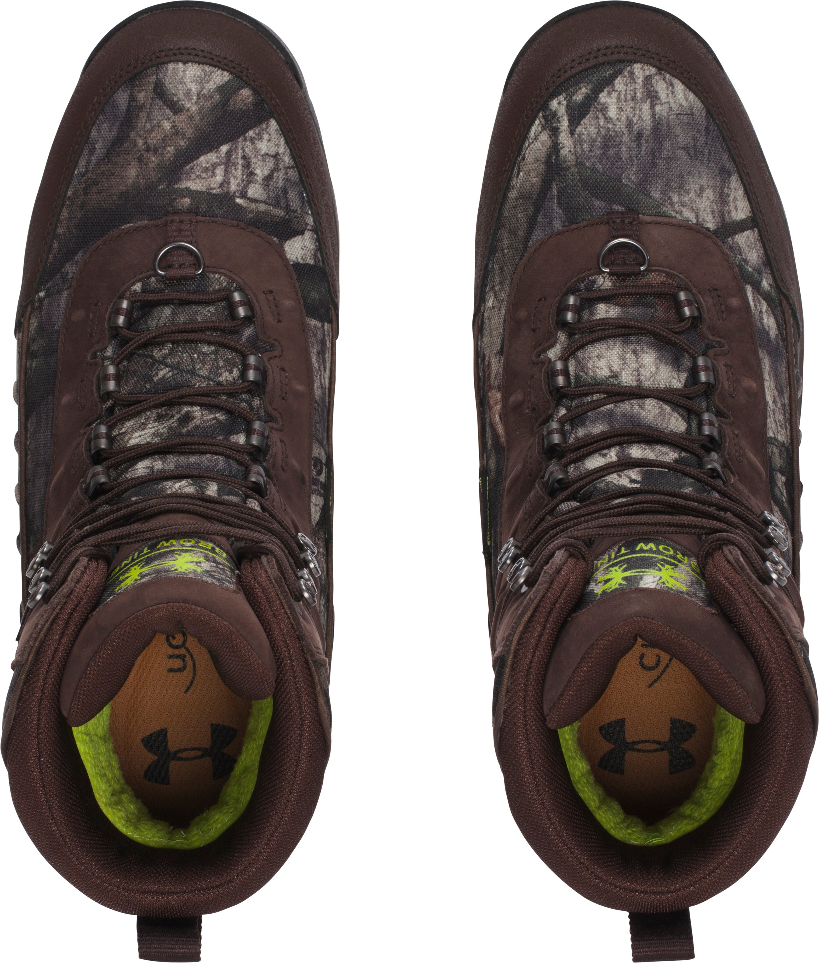 Men's UA Brow Tine Hunting Boots – 800g, Mossy Oak Treestand