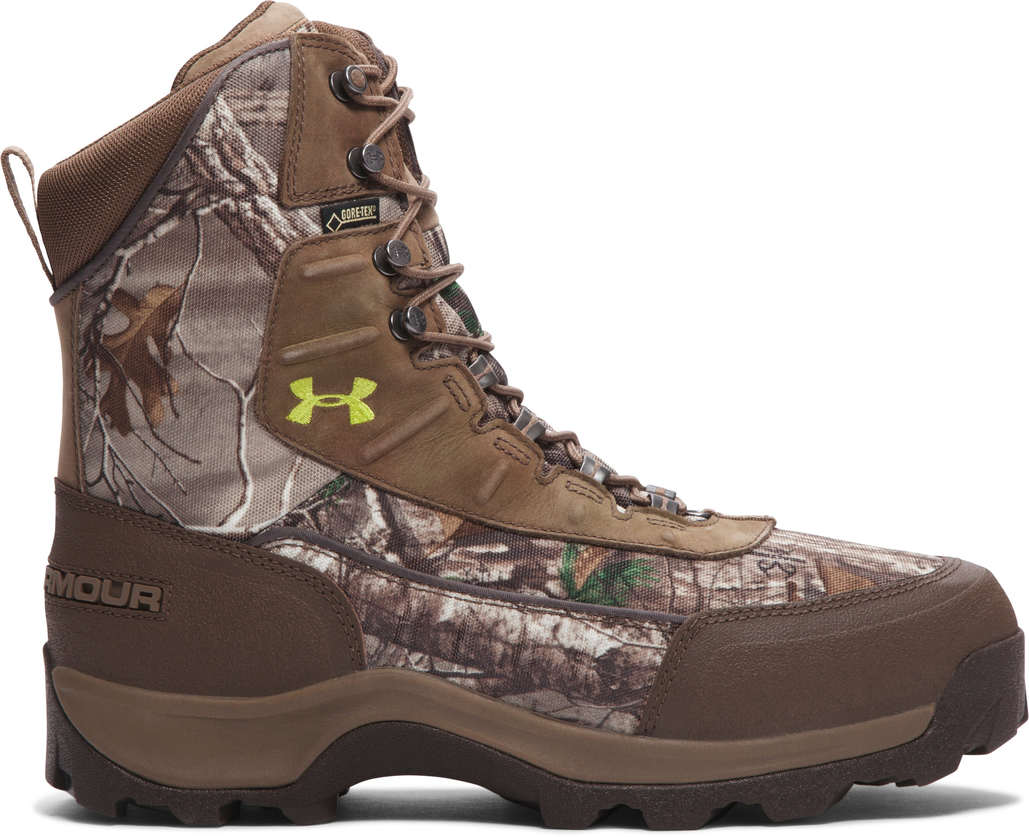 Men's UA Brow Tine Hunting Boots — 1200g, REALTREE AP-XTRA