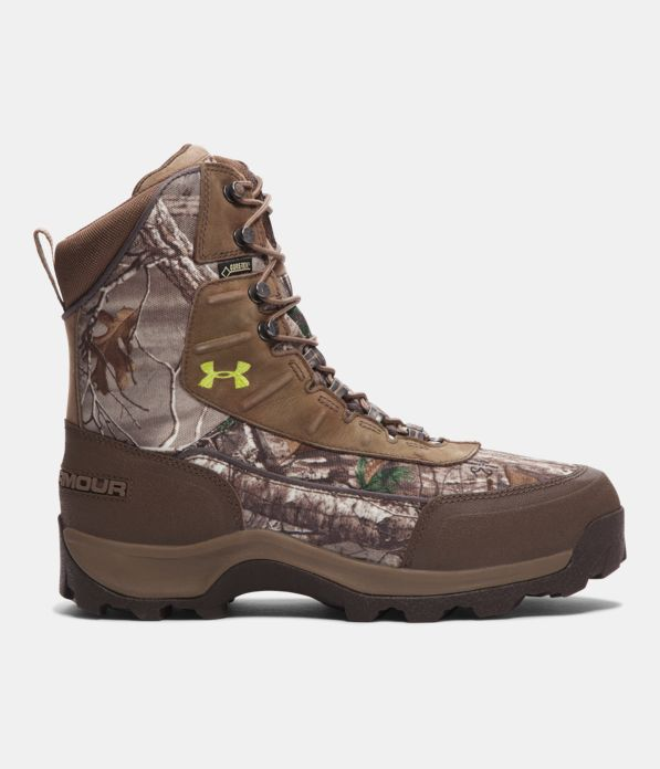 Men S Ua Brow Tine Hunting Boots 1200g Under Armour Us