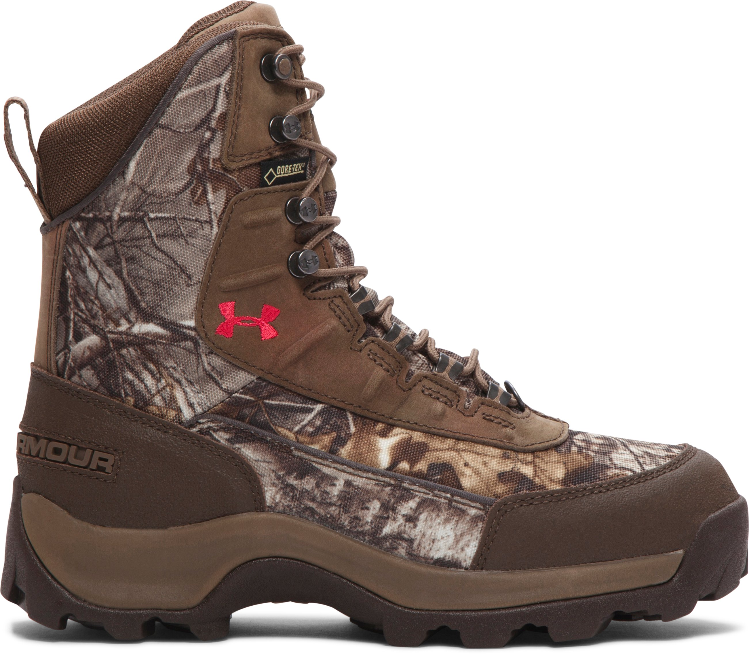 Women's UA Brow Tine — 400g Hunting Boots, REALTREE AP-XTRA
