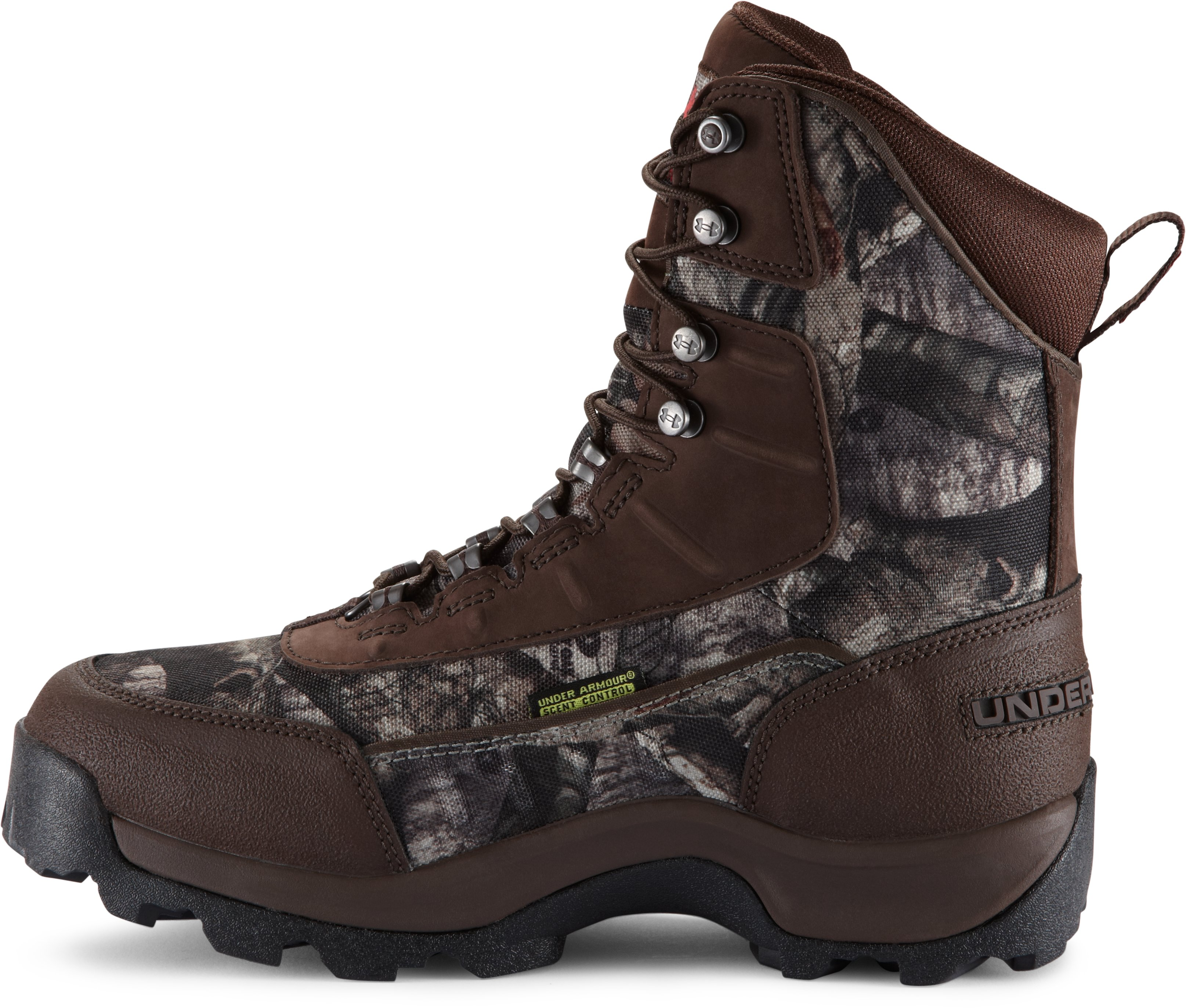 Women's UA Brow Tine 800 Hunting Boot, Mossy Oak Treestand, undefined