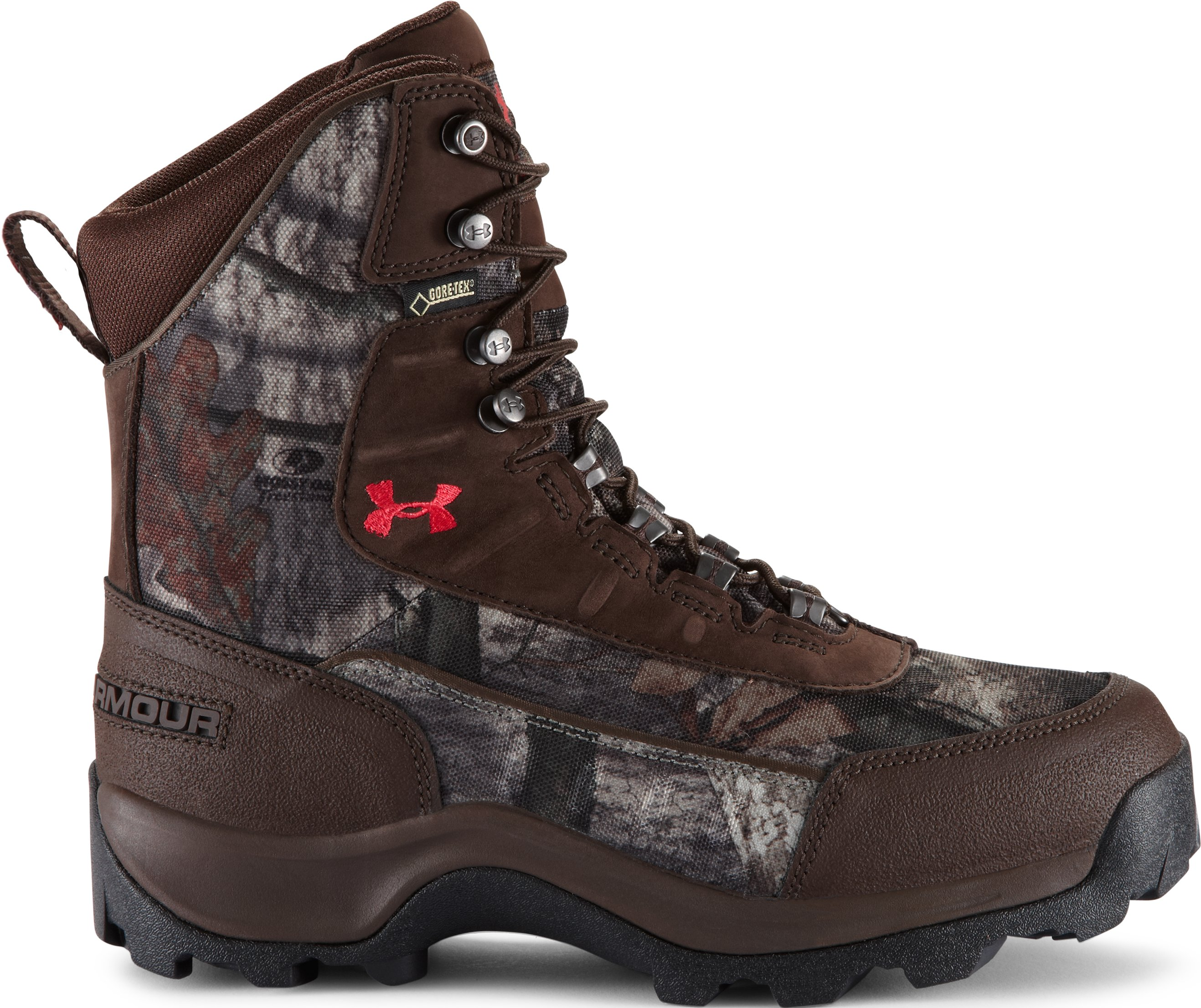 Women's UA Brow Tine 800 Hunting Boot, Mossy Oak Treestand