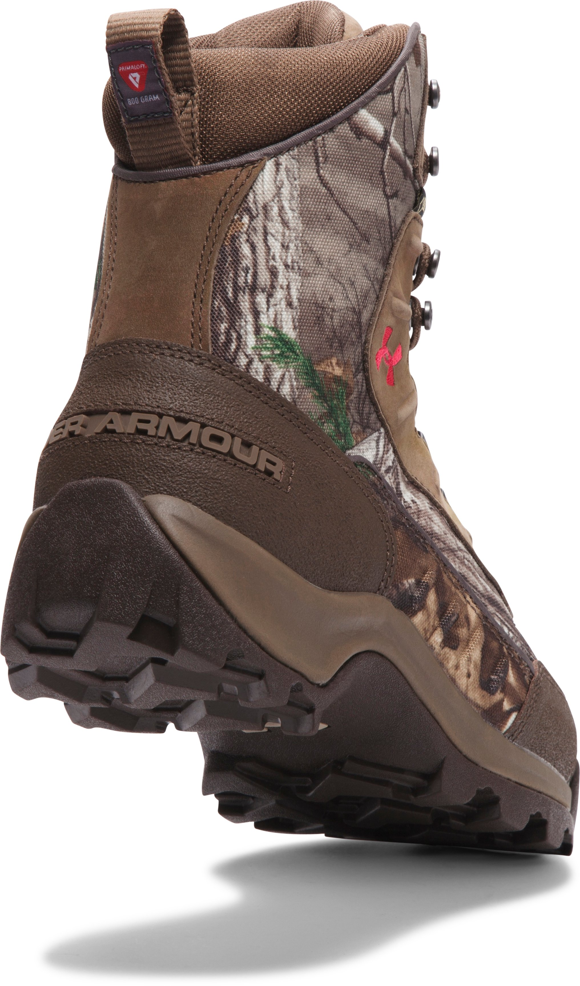 Women's UA Brow Tine 800 Hunting Boot, REALTREE AP-XTRA,