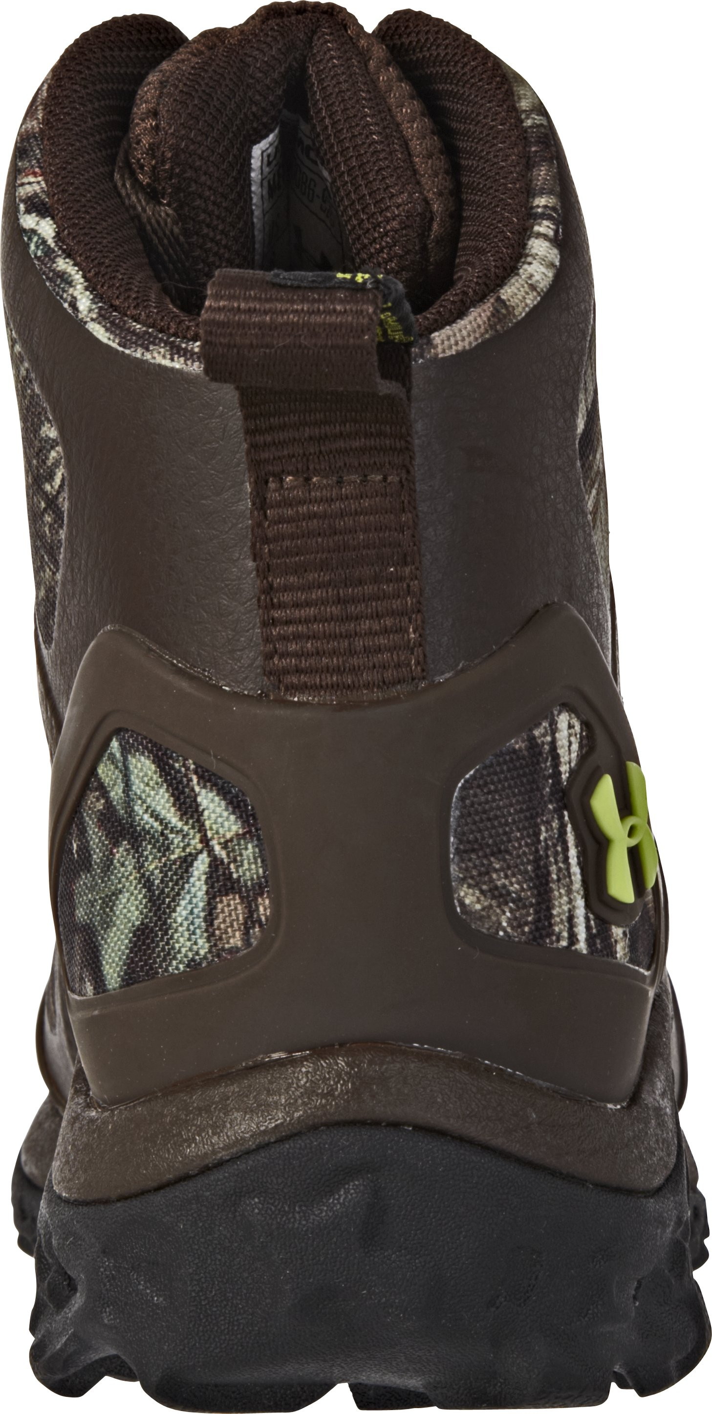 Men's UA Speed Freek Chaos Hunting Boots, Mossy Oak Break-Up Infinity