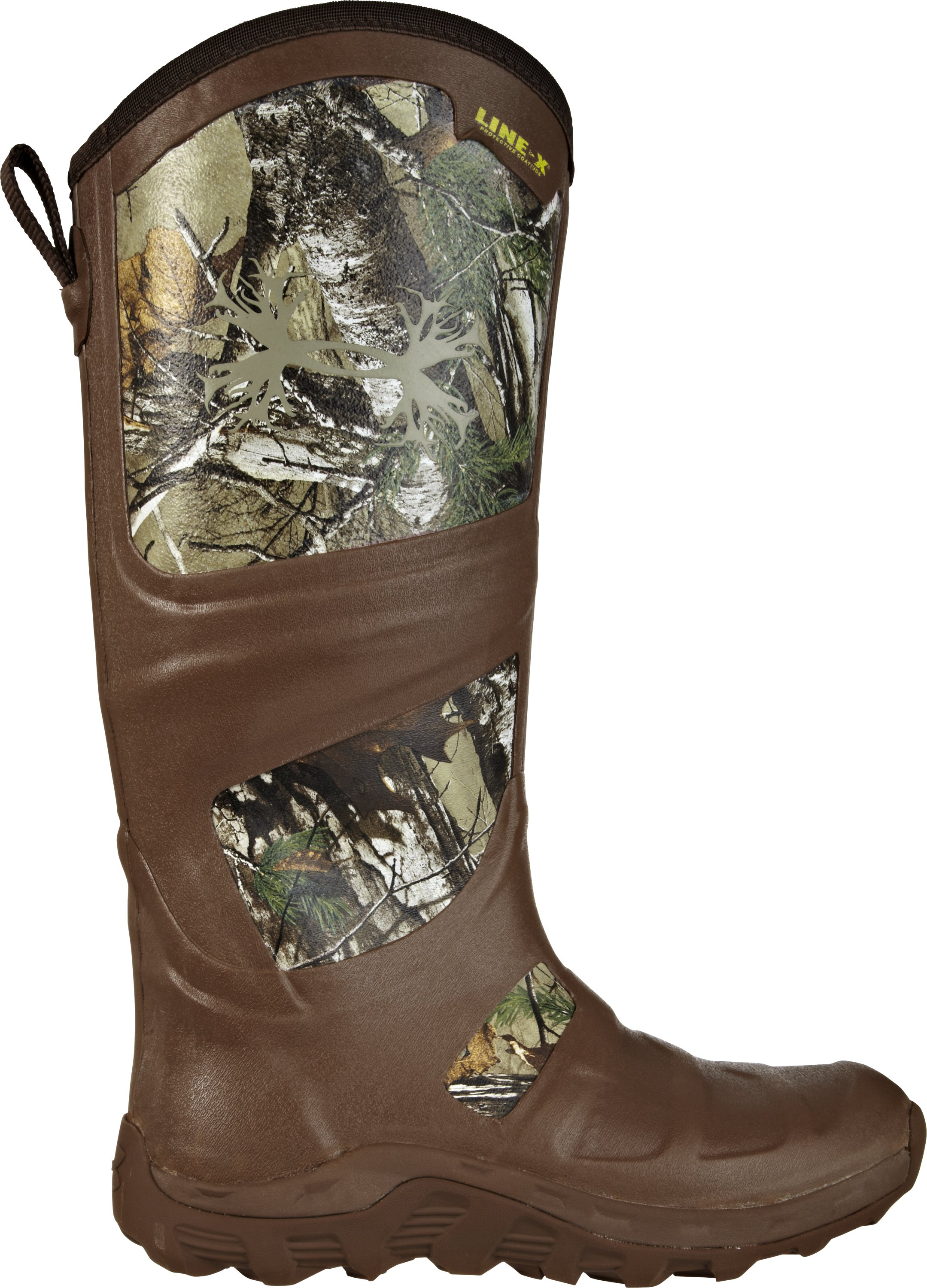 Men's UA Spinex Hunting Boots, REALTREE AP-XTRA