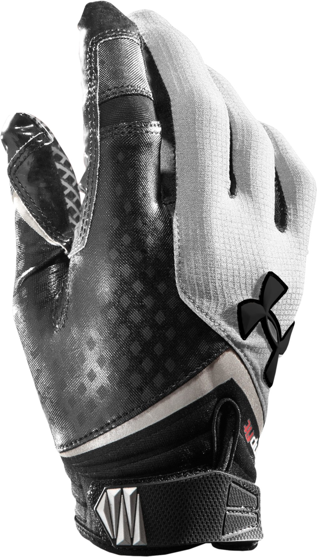 Men's UA Nitro Football Gloves, White