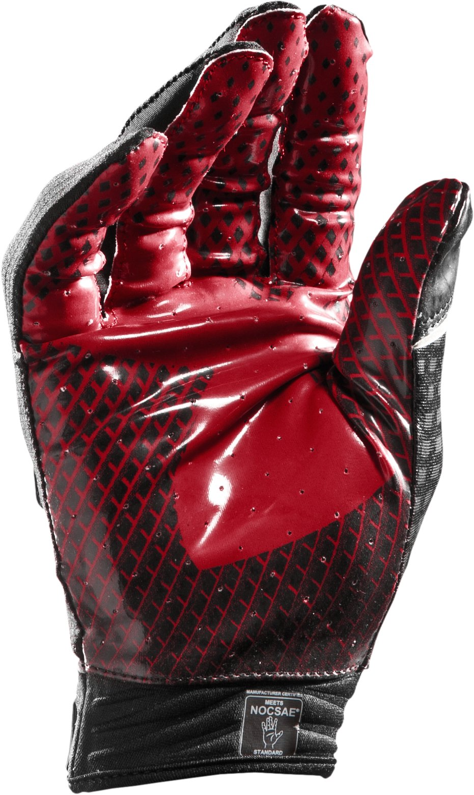 Men's UA Nitro Football Gloves, Red