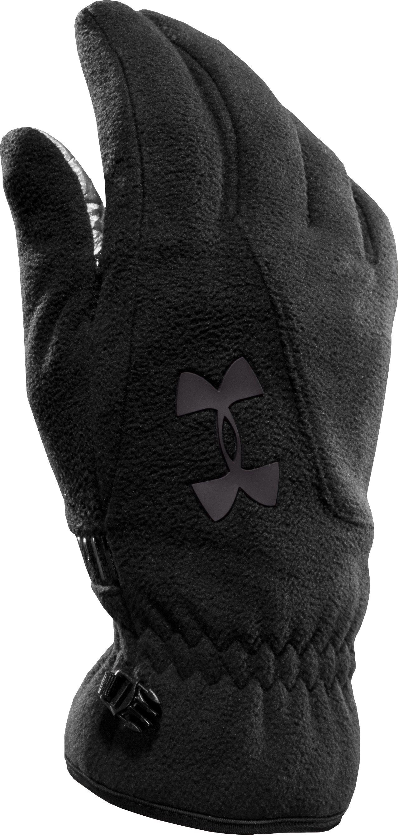 Men's ColdGear® Infrared Storm Convex Gloves, Black , zoomed image