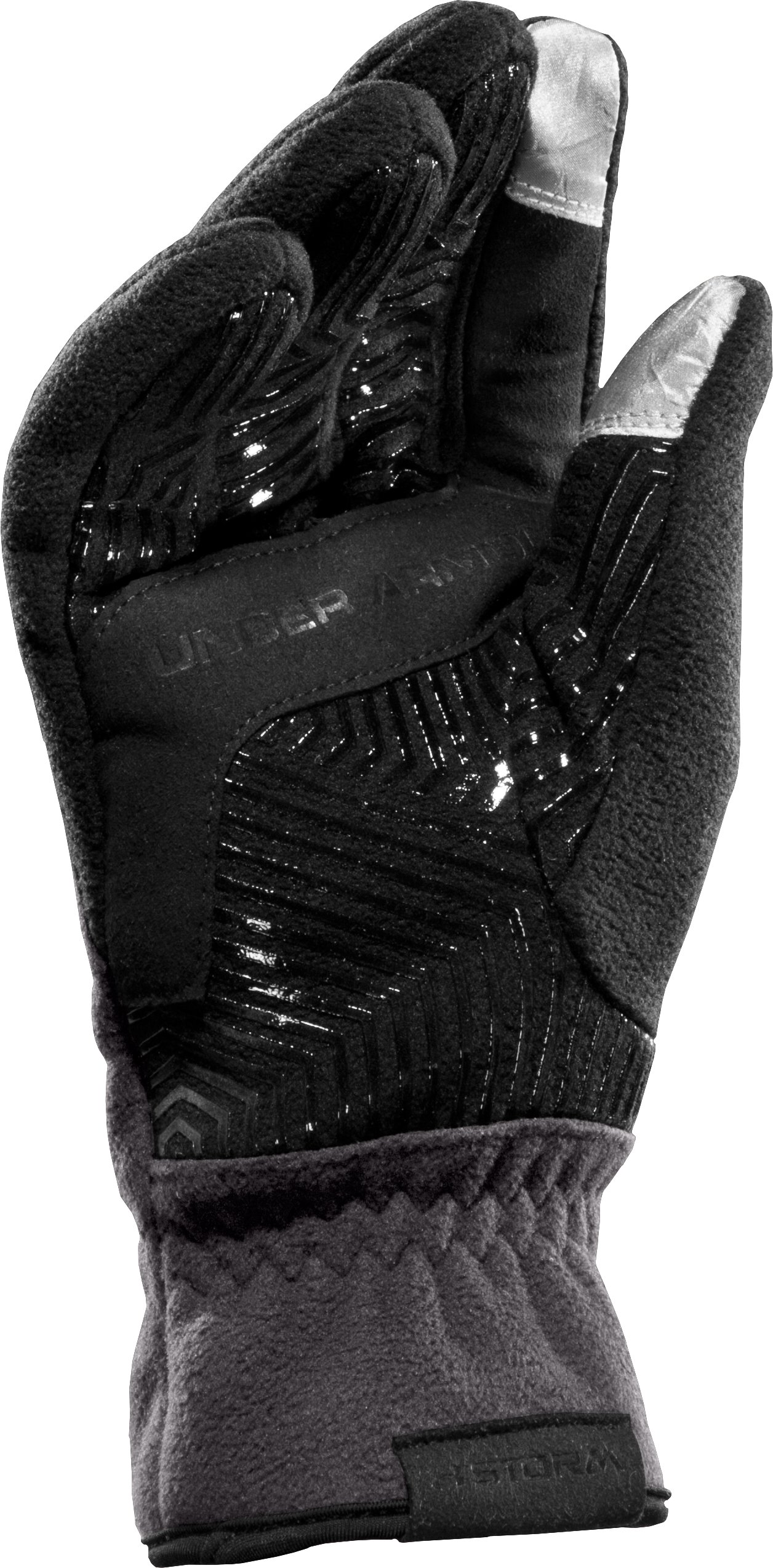 Men's ColdGear® Infrared Storm Convex Gloves, Charcoal