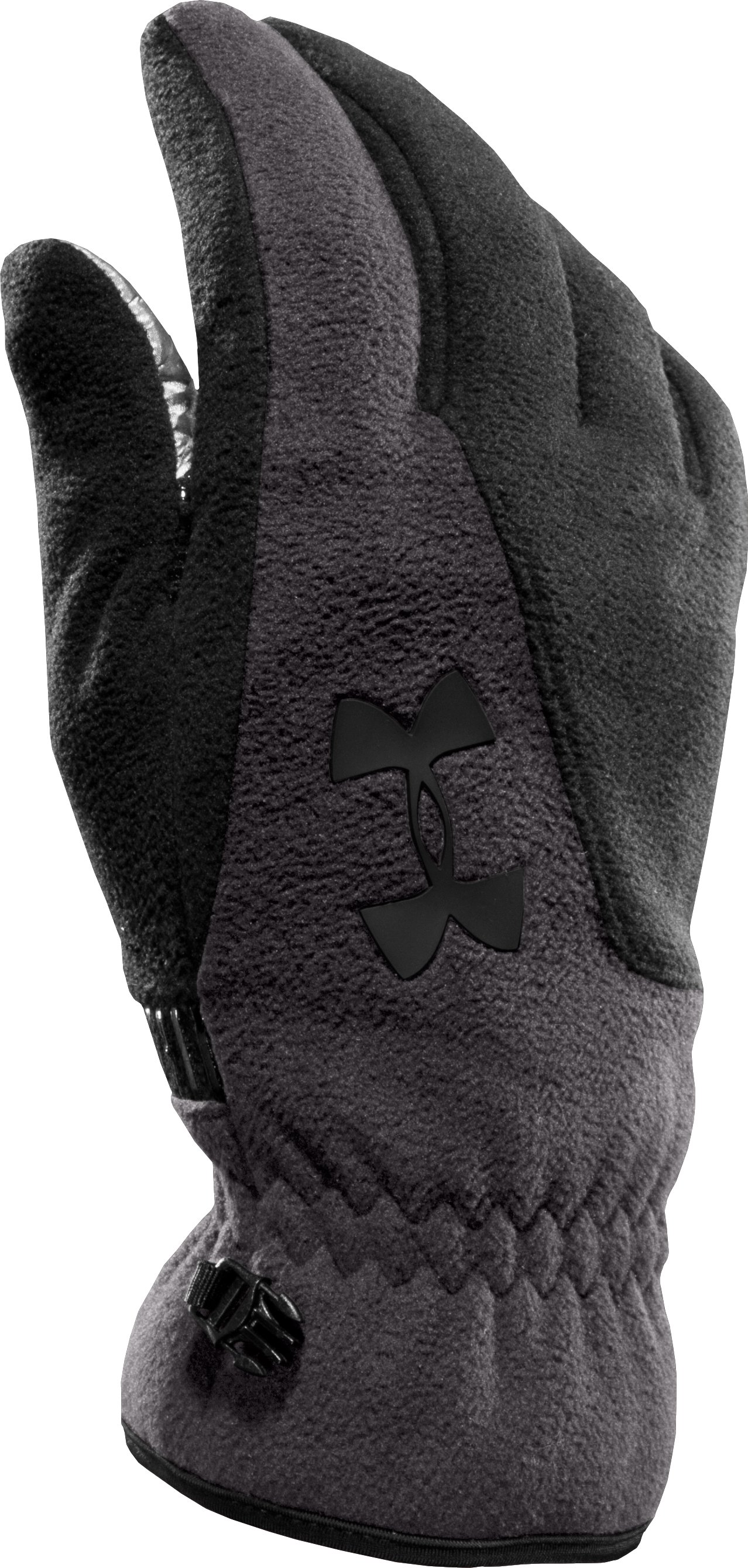 Men's ColdGear® Infrared Storm Convex Gloves, Charcoal, zoomed image